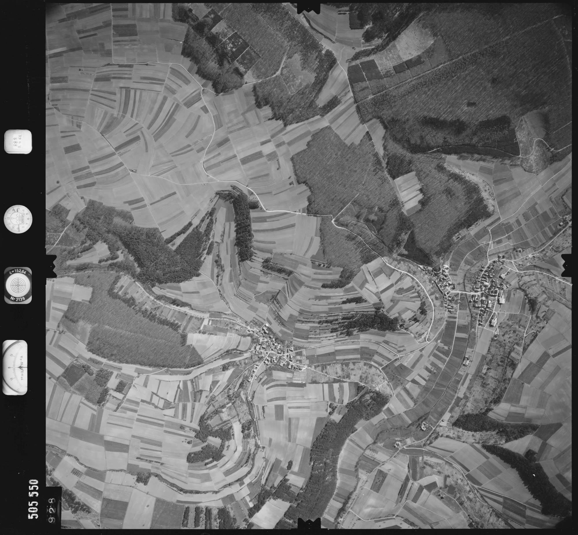 Luftbild: Film 890 Bildnr. 928, Bild 1