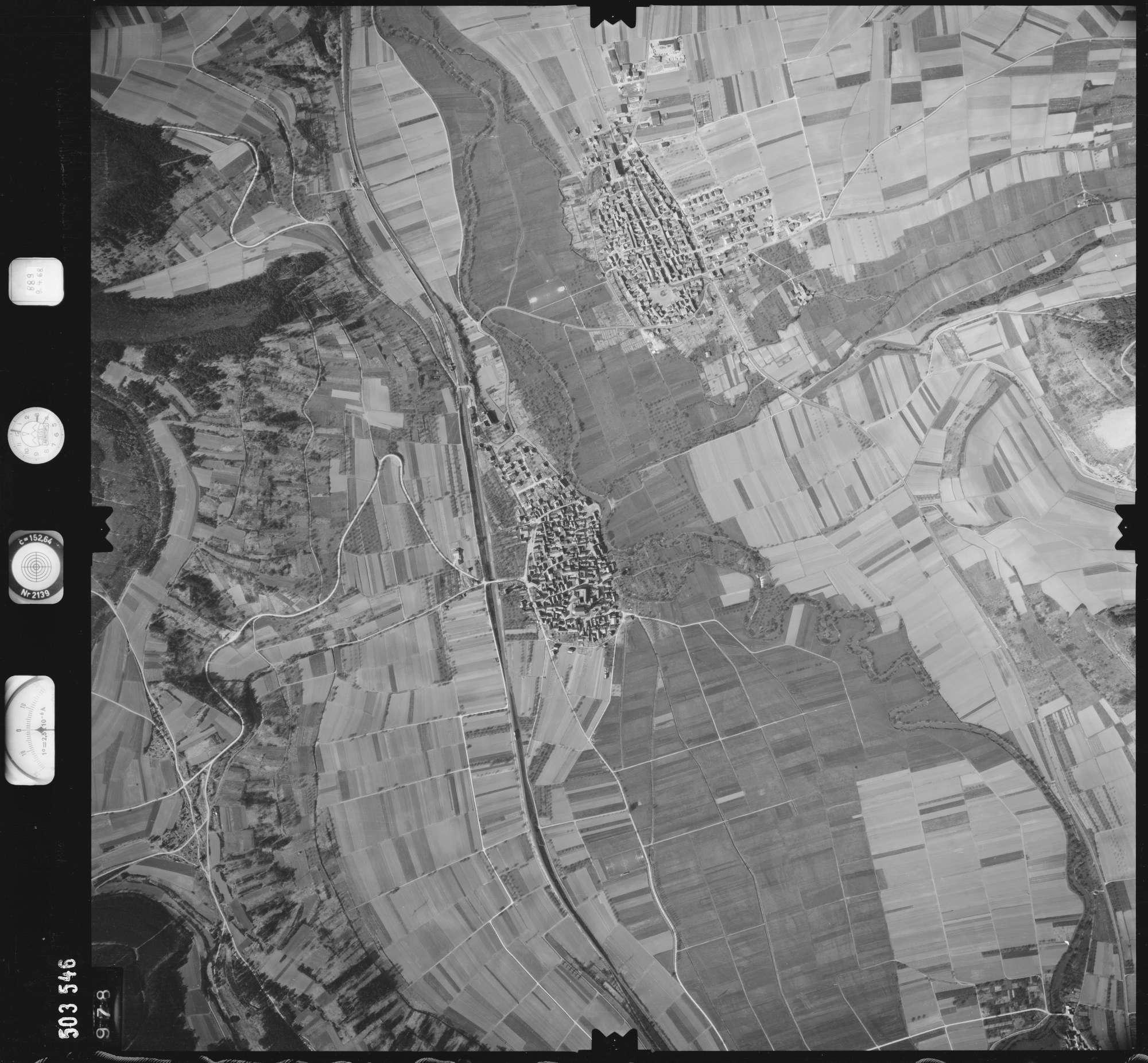 Luftbild: Film 890 Bildnr. 978, Bild 1