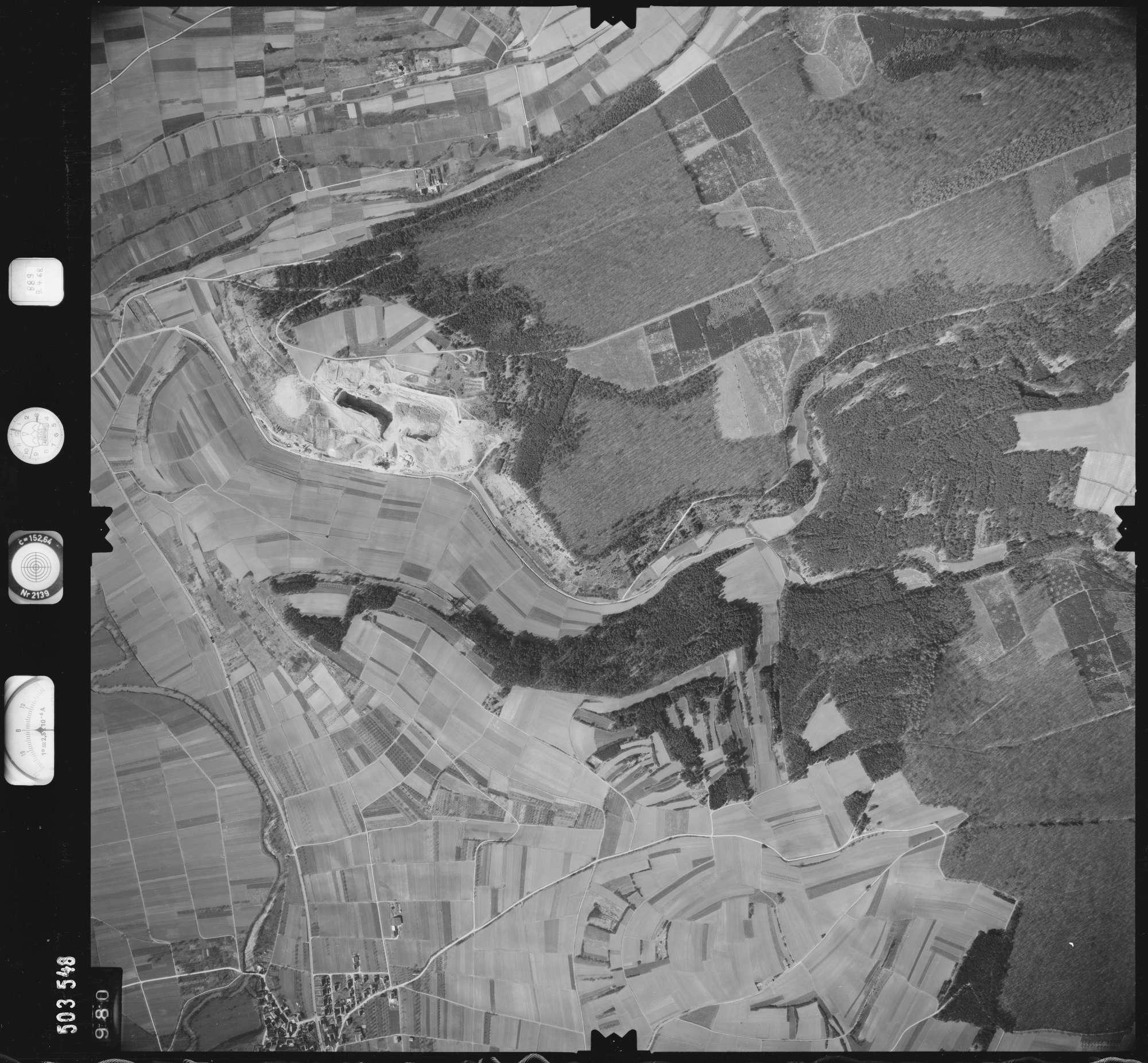 Luftbild: Film 890 Bildnr. 980, Bild 1