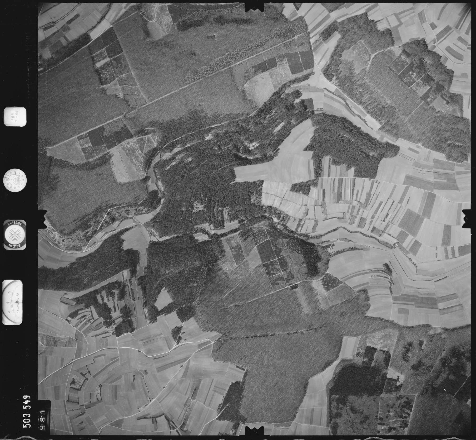 Luftbild: Film 890 Bildnr. 981, Bild 1