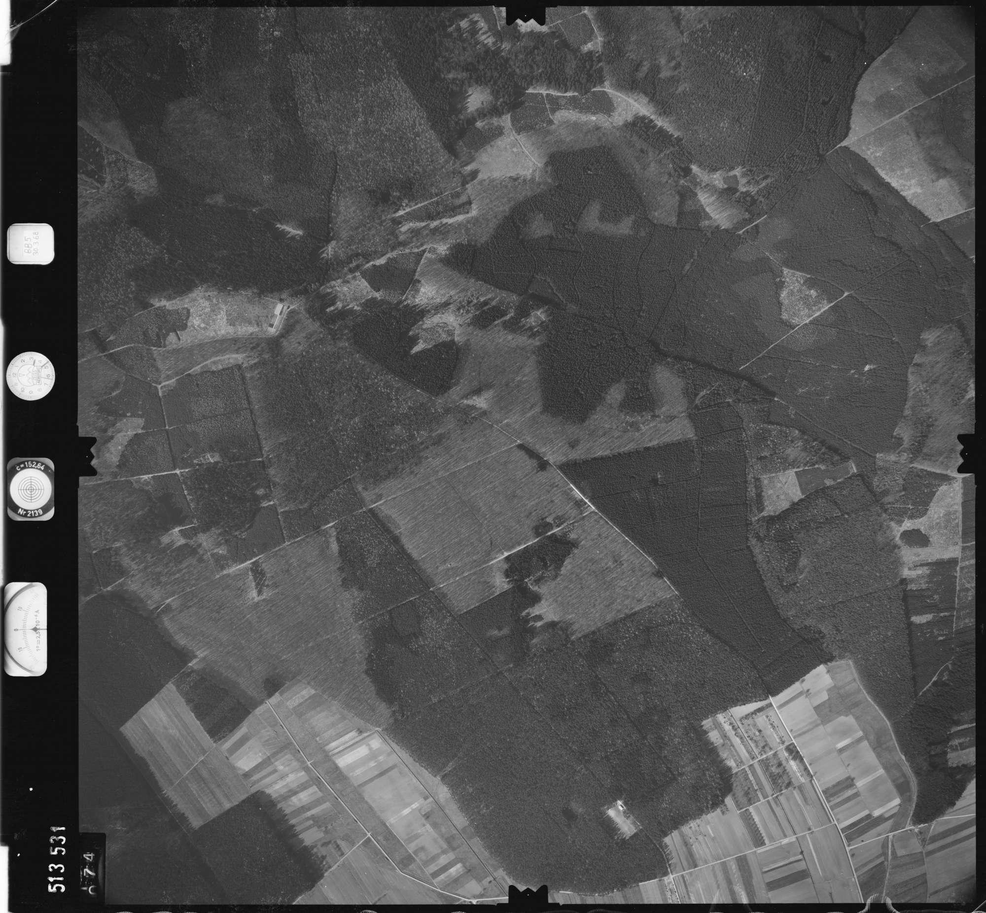 Luftbild: Film 885 Bildnr. 74, Bild 1