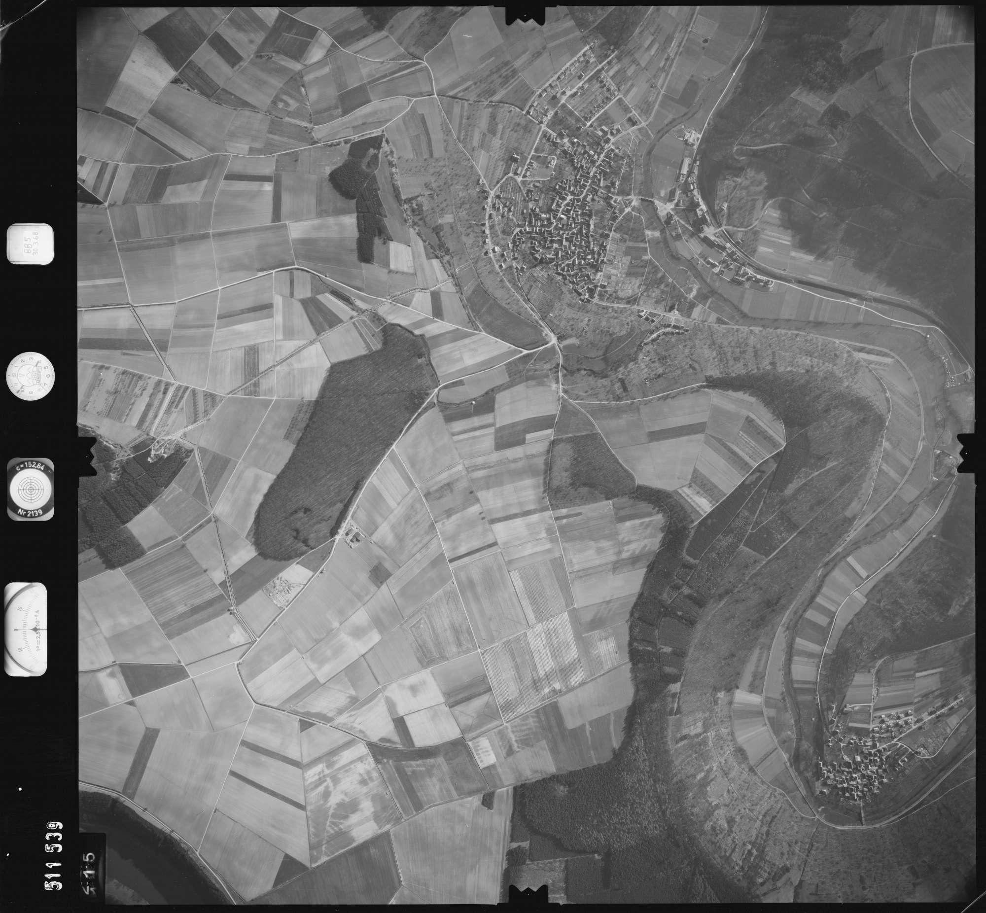 Luftbild: Film 885 Bildnr. 115, Bild 1
