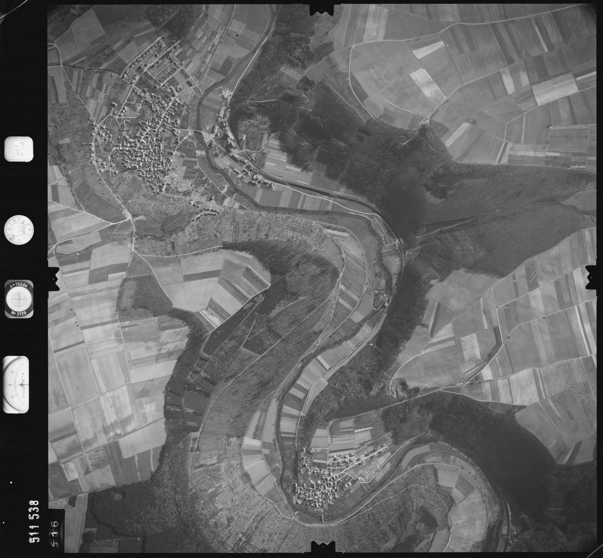 Luftbild: Film 885 Bildnr. 116, Bild 1