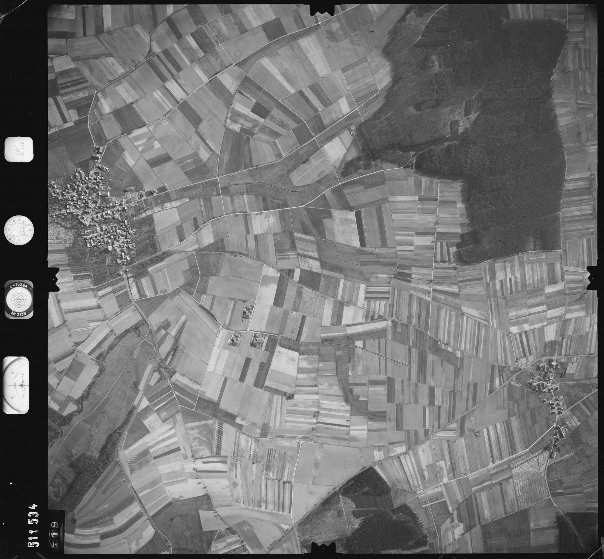 Luftbild: Film 885 Bildnr. 119, Bild 1
