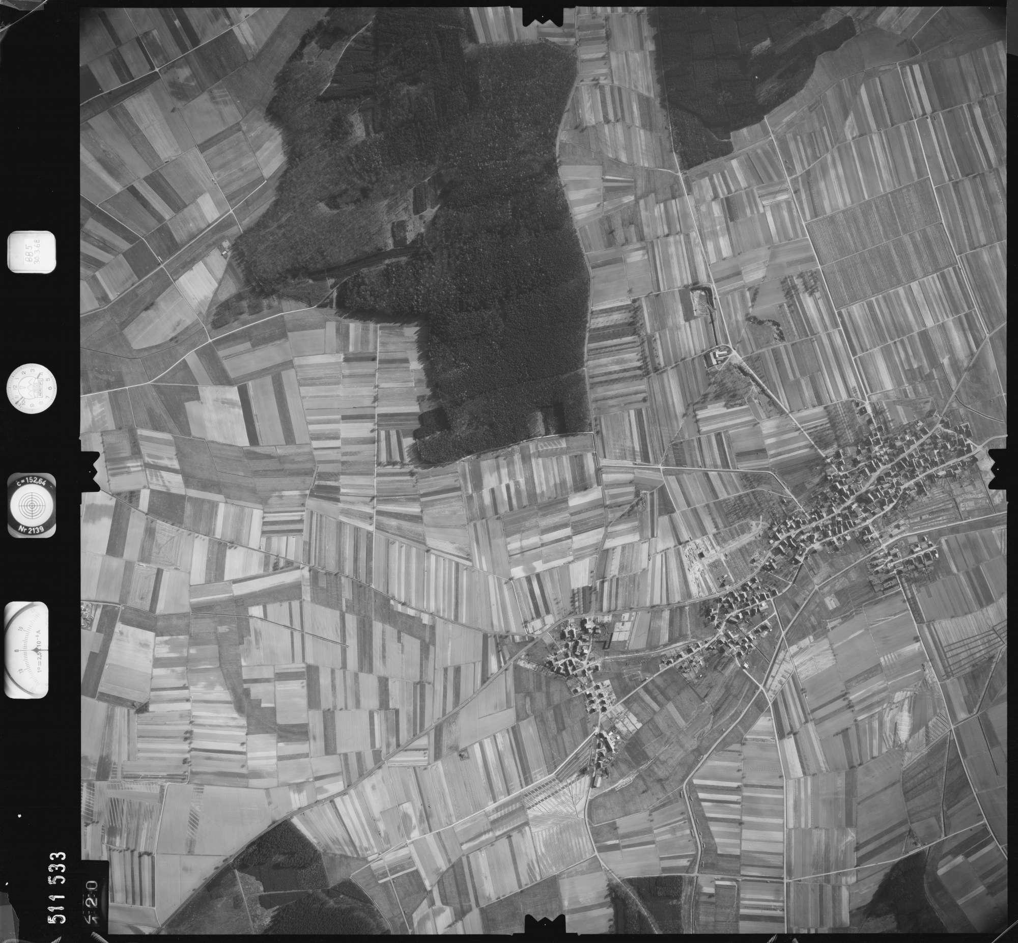 Luftbild: Film 885 Bildnr. 120, Bild 1