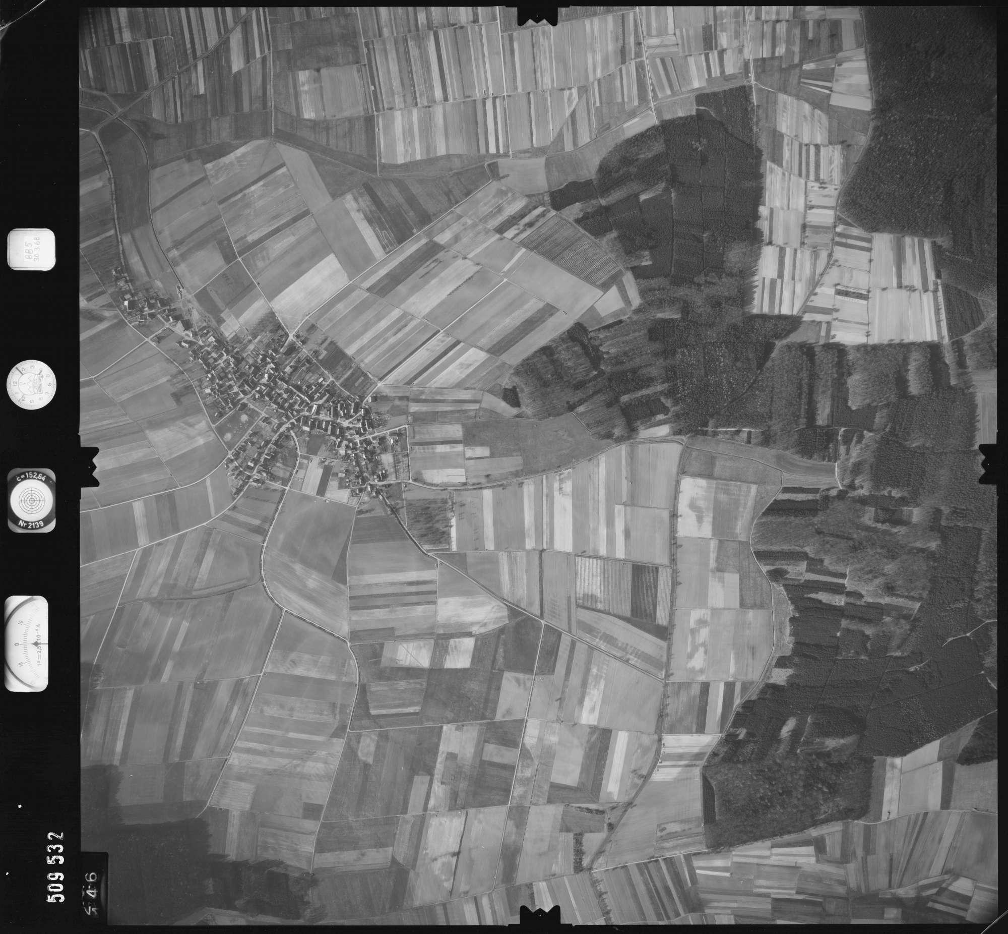 Luftbild: Film 885 Bildnr. 146, Bild 1