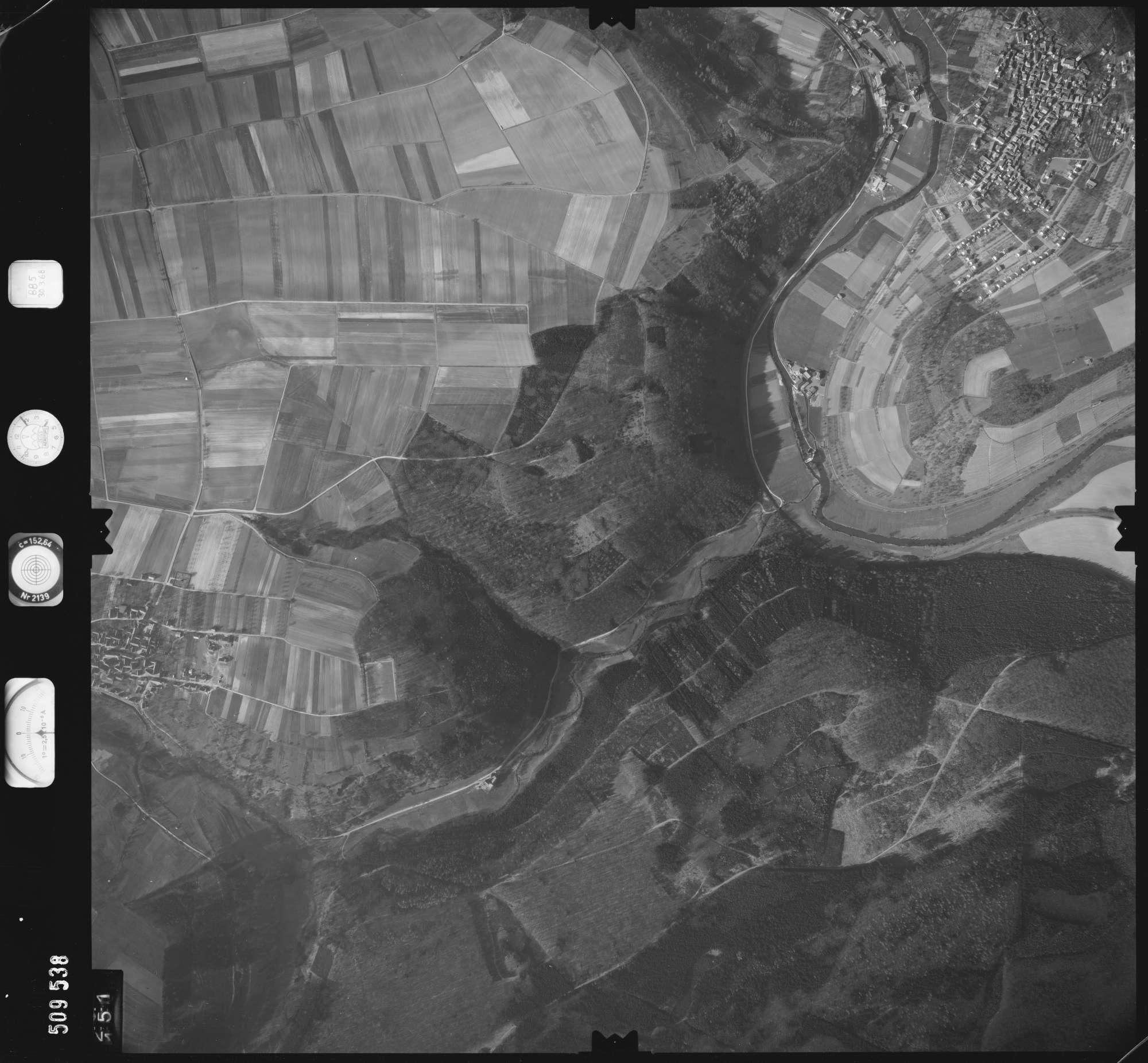 Luftbild: Film 885 Bildnr. 151, Bild 1