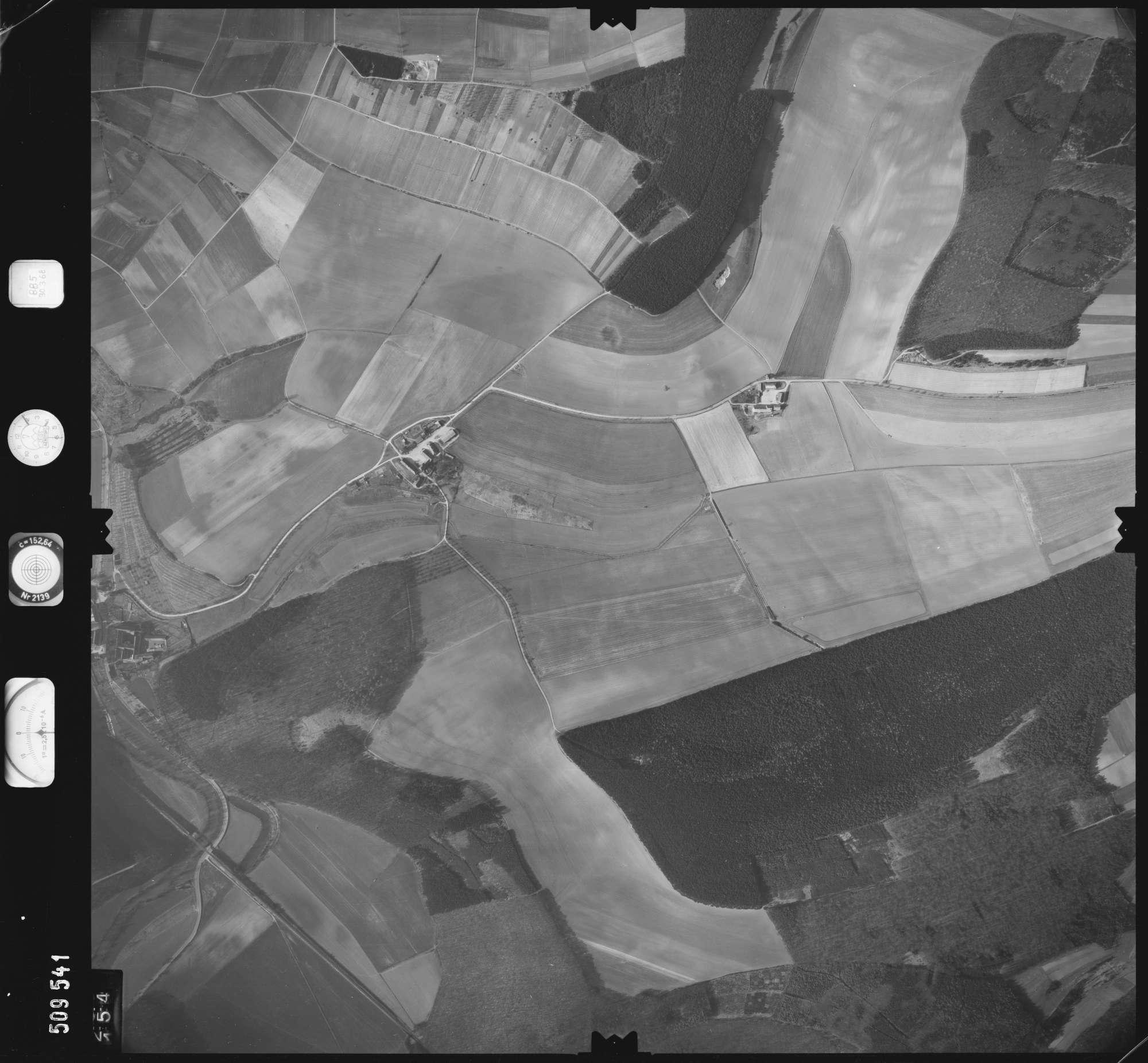 Luftbild: Film 885 Bildnr. 154, Bild 1
