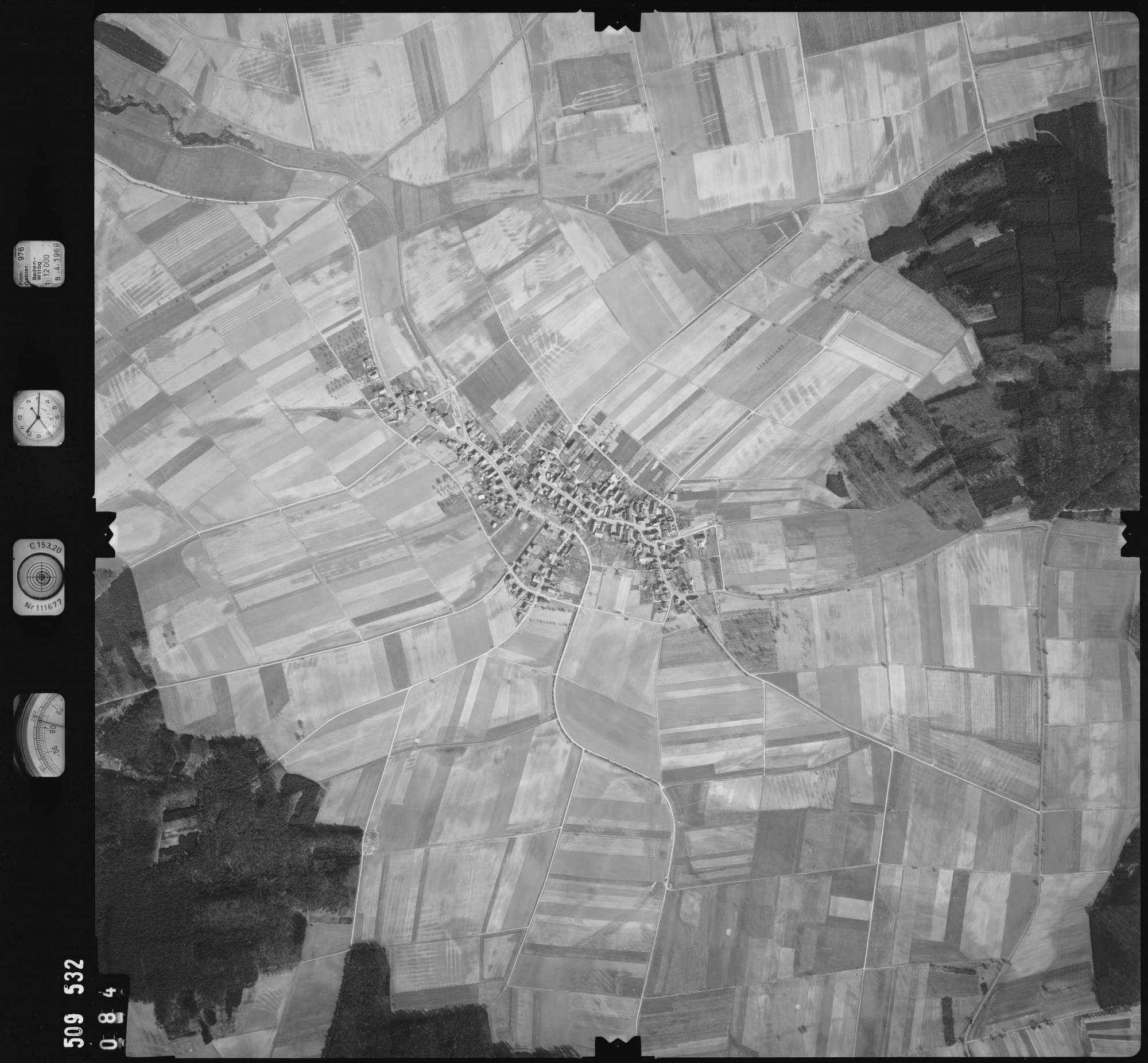 Luftbild: Film 976 Bildnr. 84, Bild 1