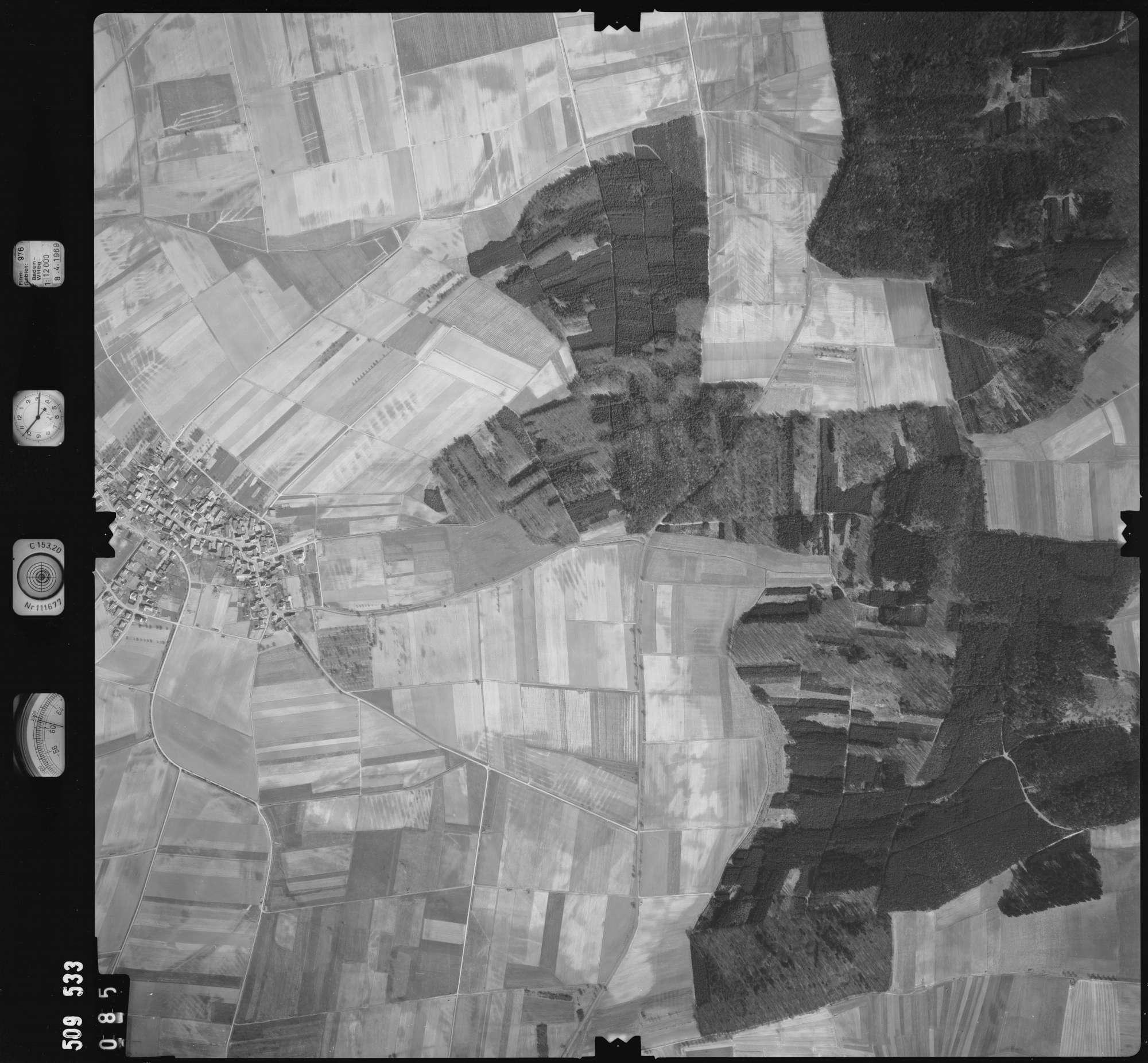 Luftbild: Film 976 Bildnr. 85, Bild 1
