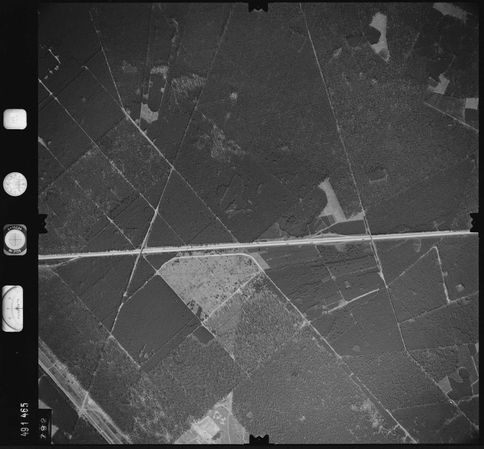 Luftbild: Film 888 Bildnr. 792, Bild 1