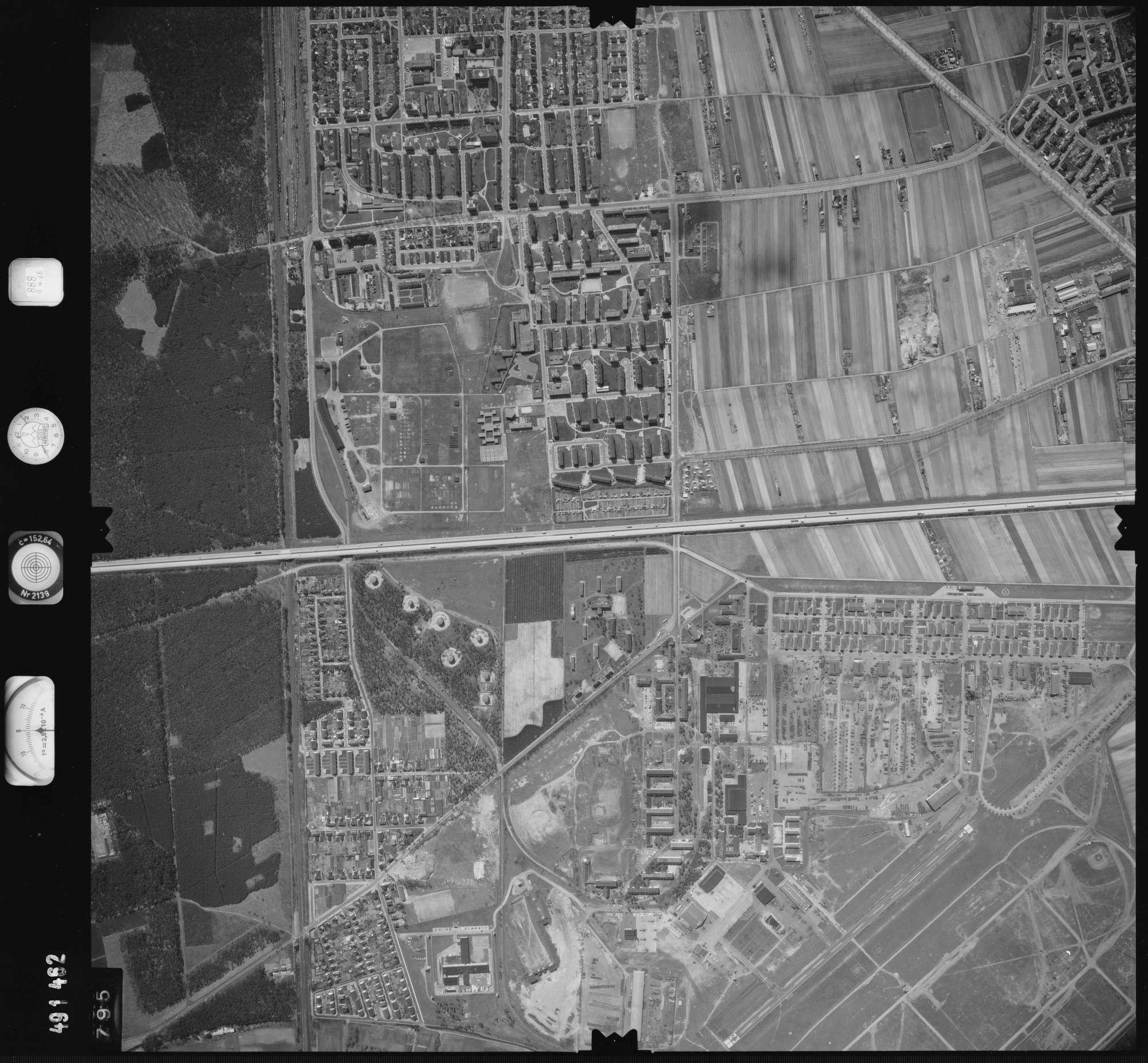 Luftbild: Film 888 Bildnr. 795, Bild 1