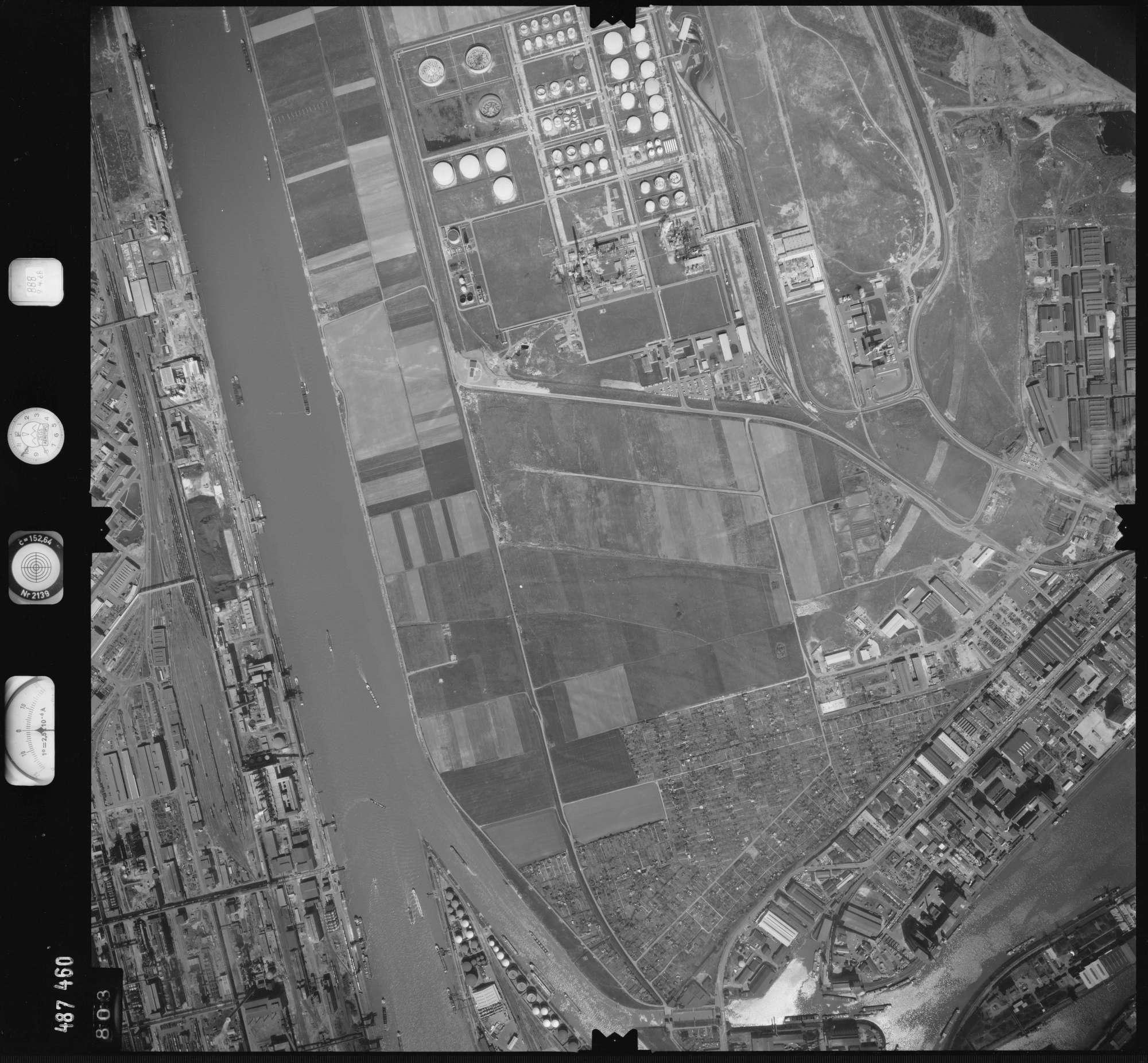 Luftbild: Film 888 Bildnr. 803, Bild 1