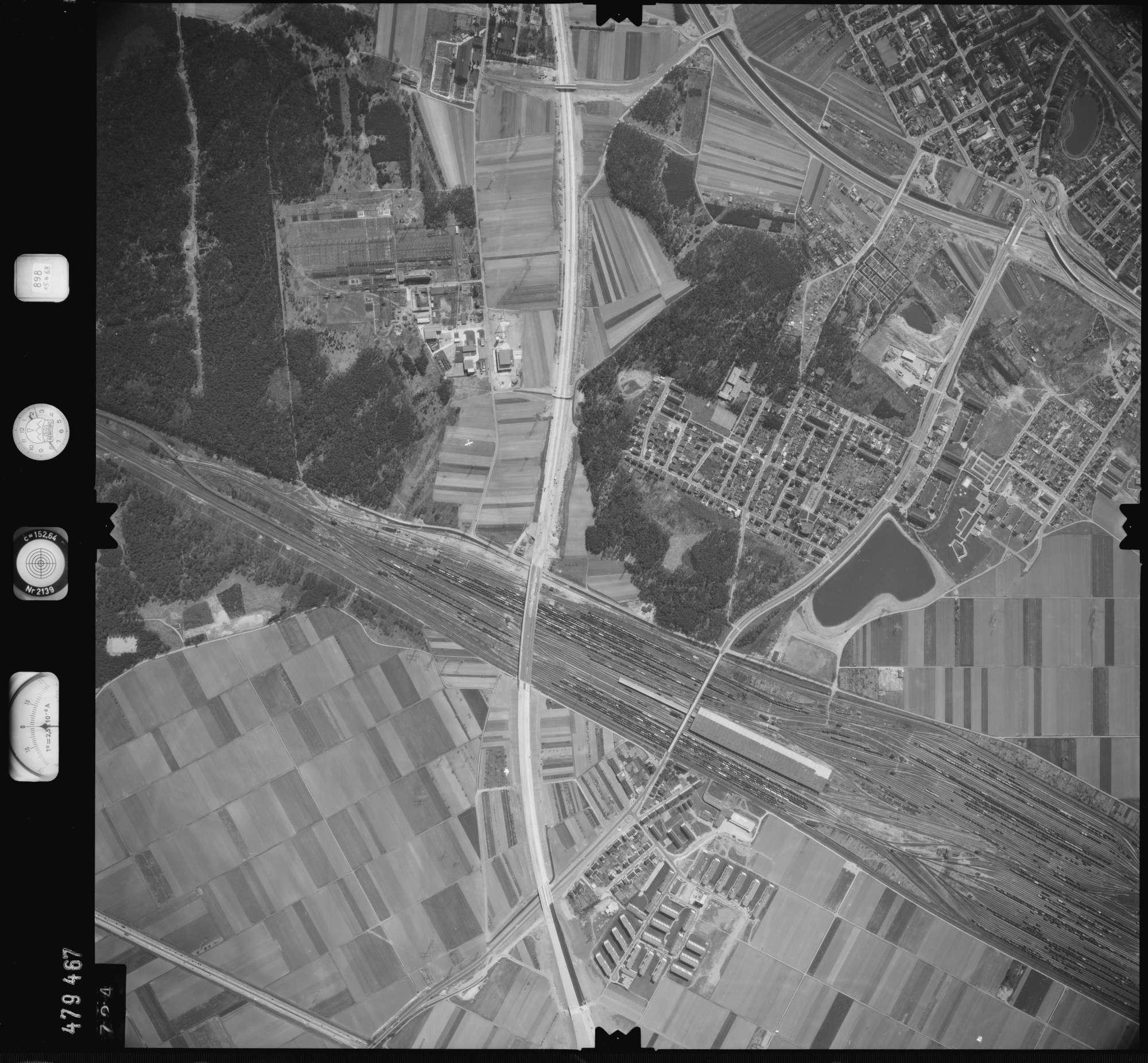 Luftbild: Film 898 Bildnr. 724, Bild 1