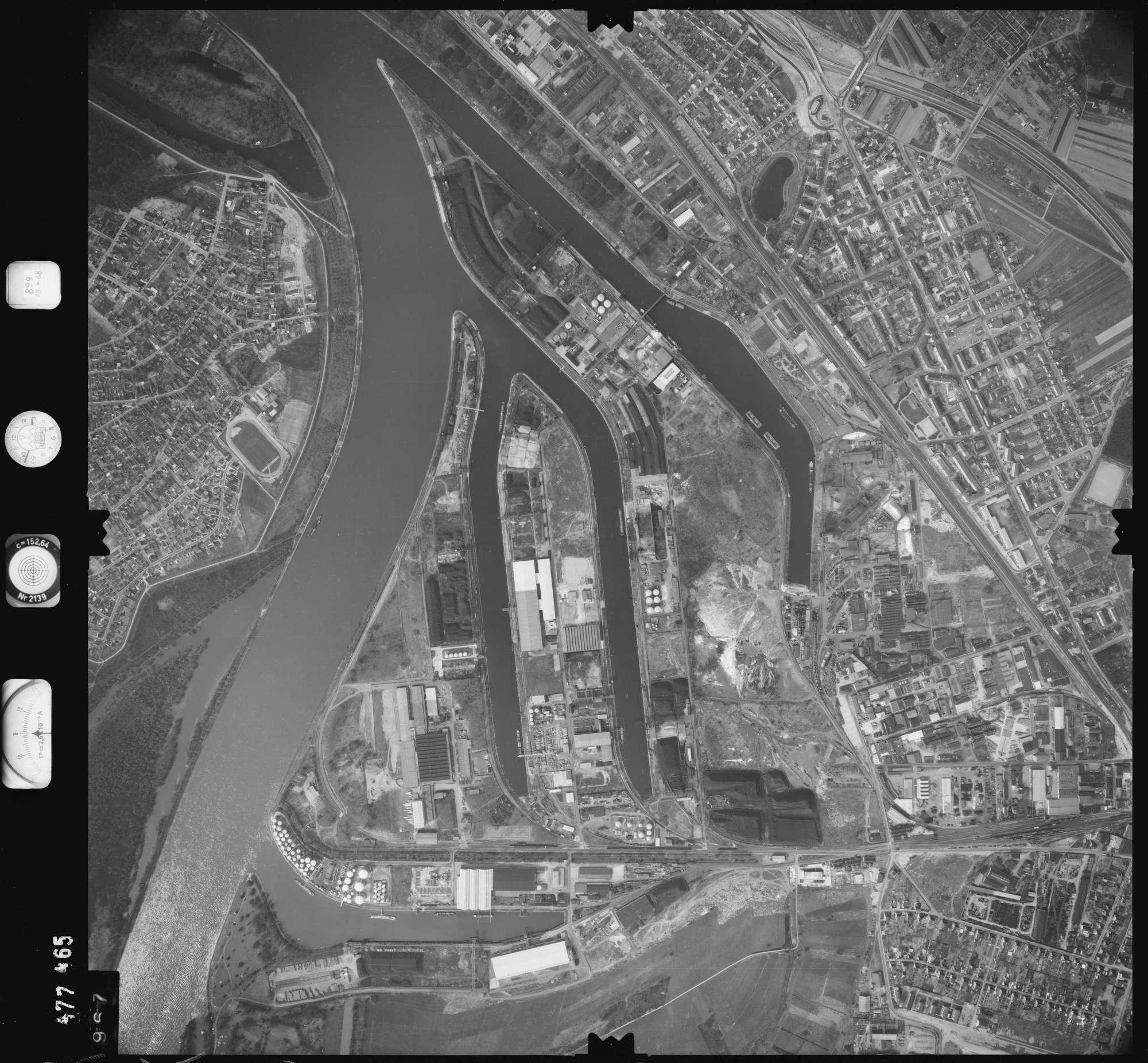 Luftbild: Film 899 Bildnr. 967, Bild 1