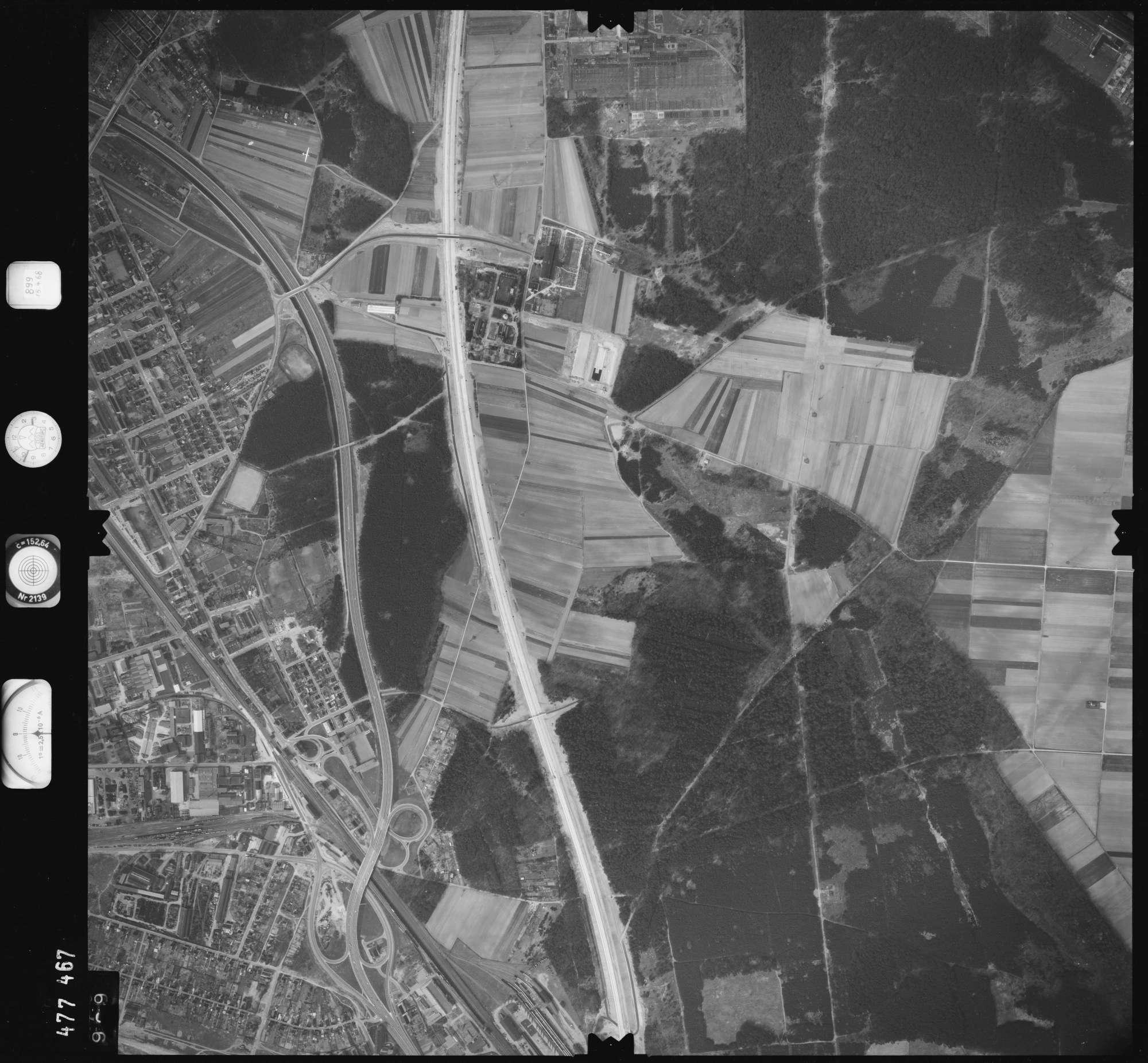 Luftbild: Film 899 Bildnr. 969, Bild 1