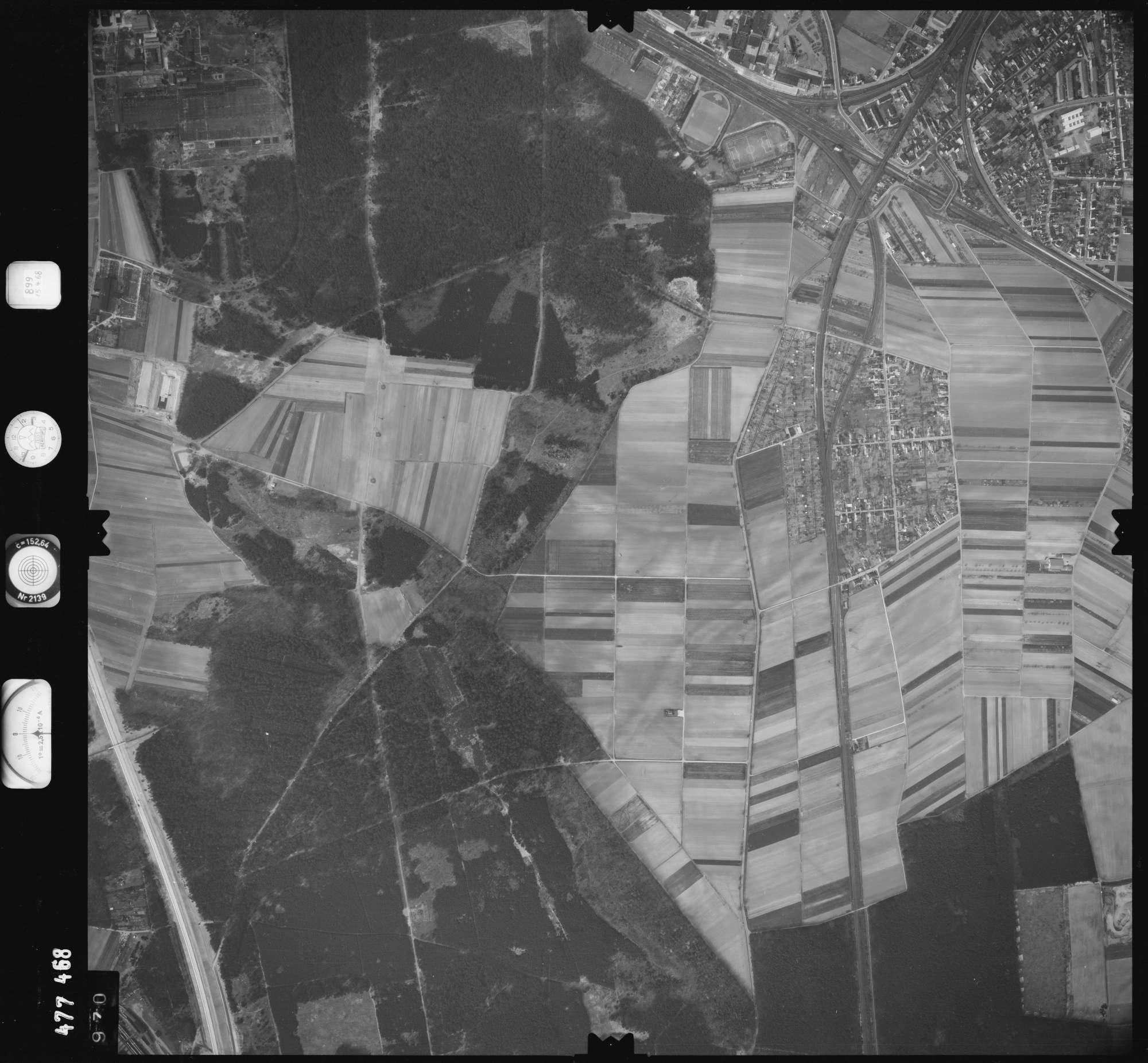 Luftbild: Film 899 Bildnr. 970, Bild 1