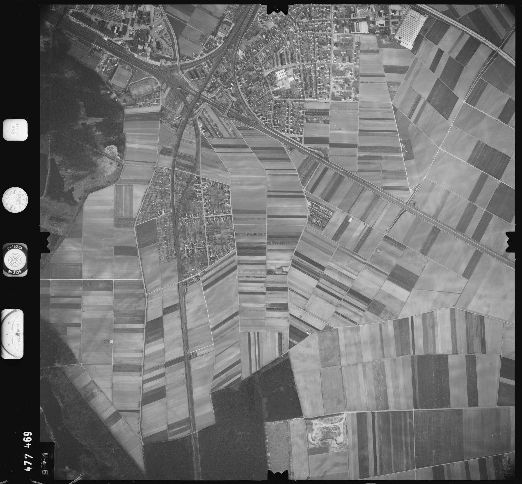 Luftbild: Film 899 Bildnr. 971, Bild 1