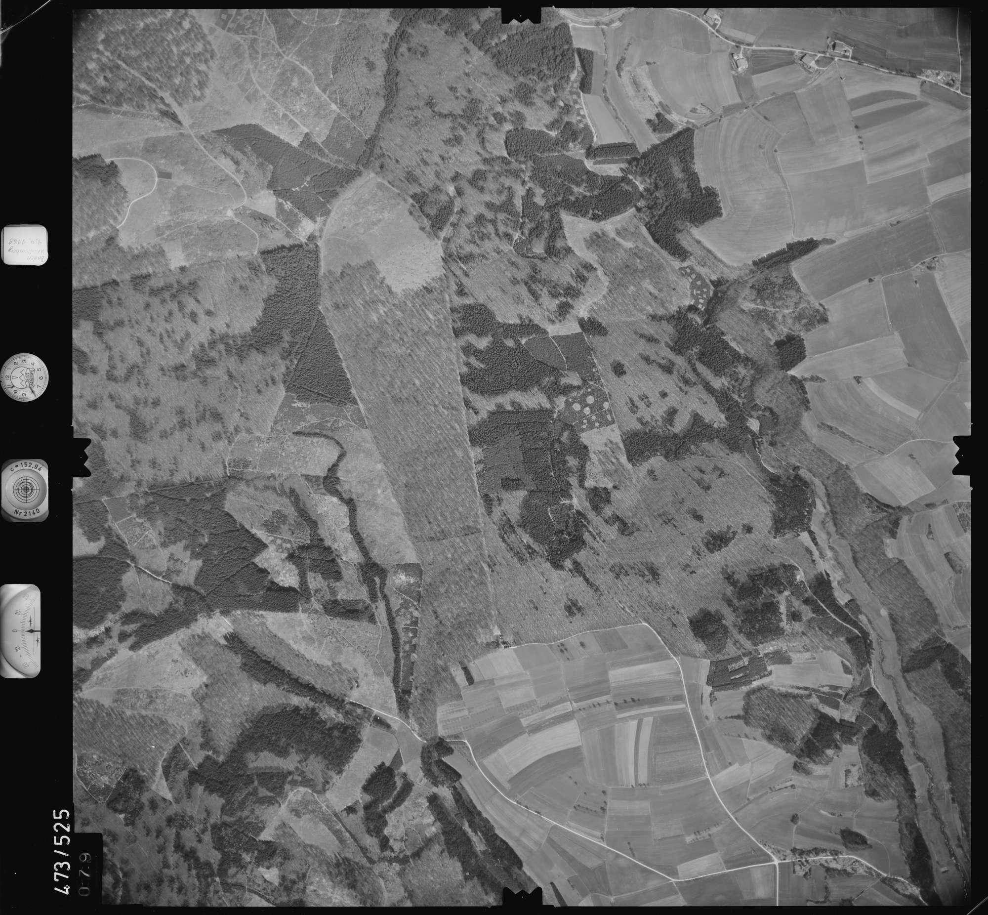 Luftbild: Film 100 Bildnr. 79, Bild 1