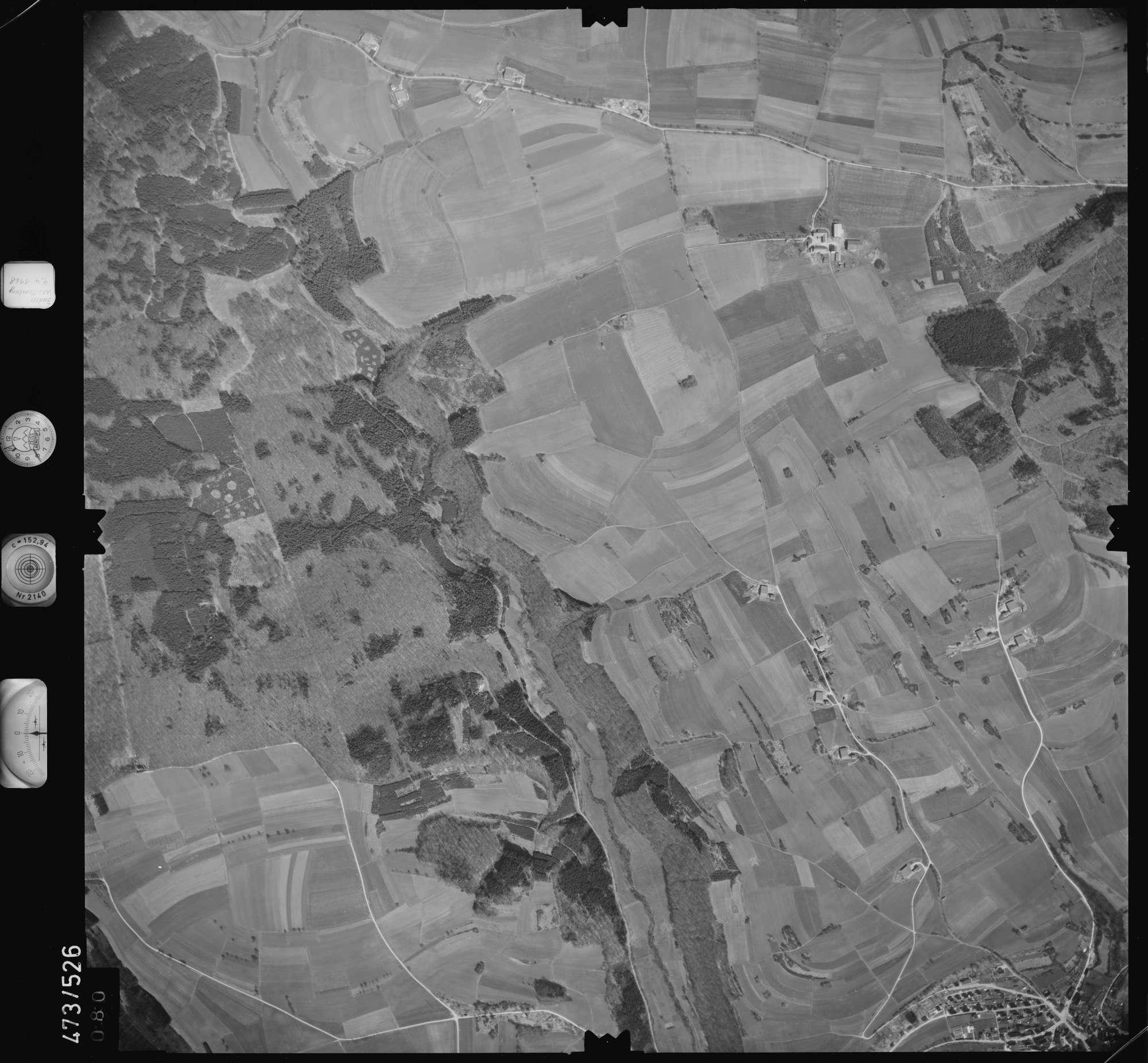 Luftbild: Film 100 Bildnr. 80, Bild 1