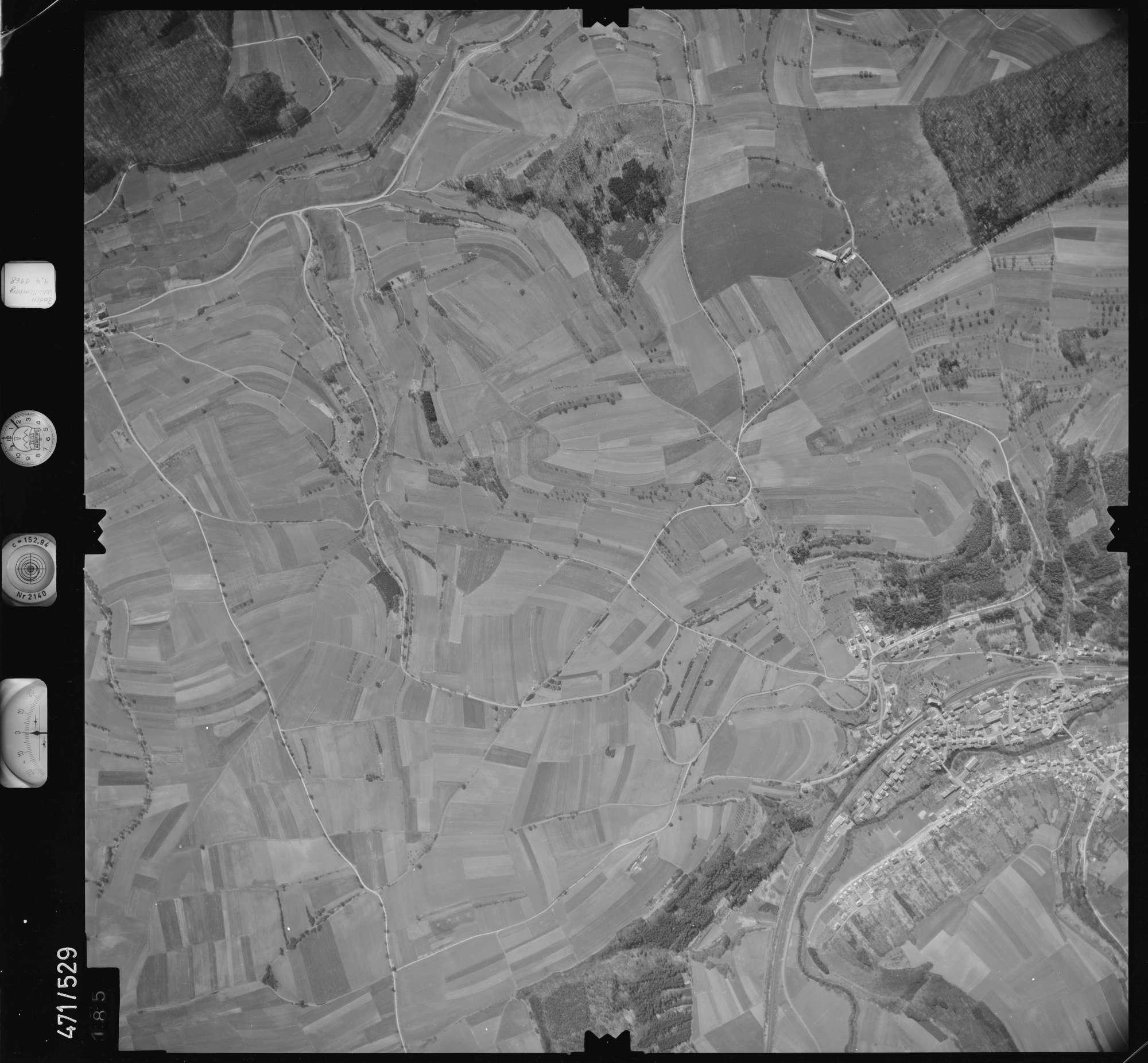 Luftbild: Film 100 Bildnr. 185, Bild 1