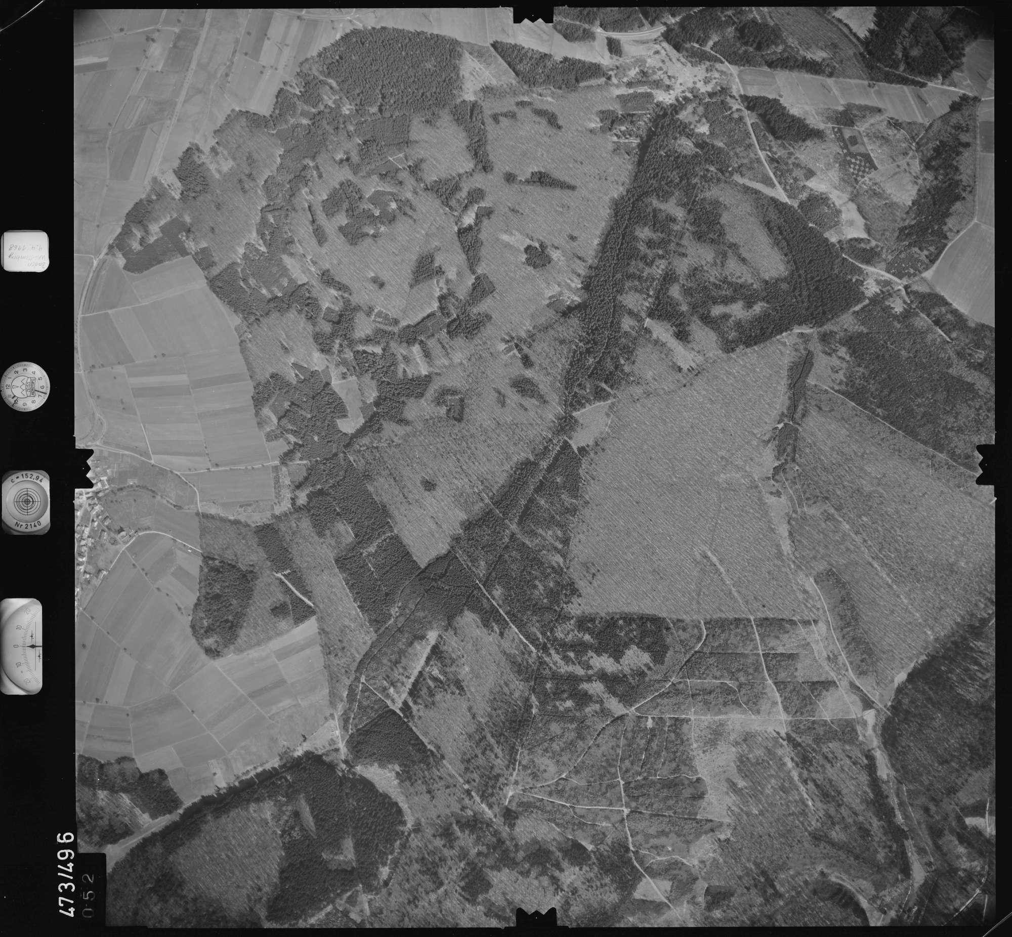 Luftbild: Film 100 Bildnr. 52, Bild 1