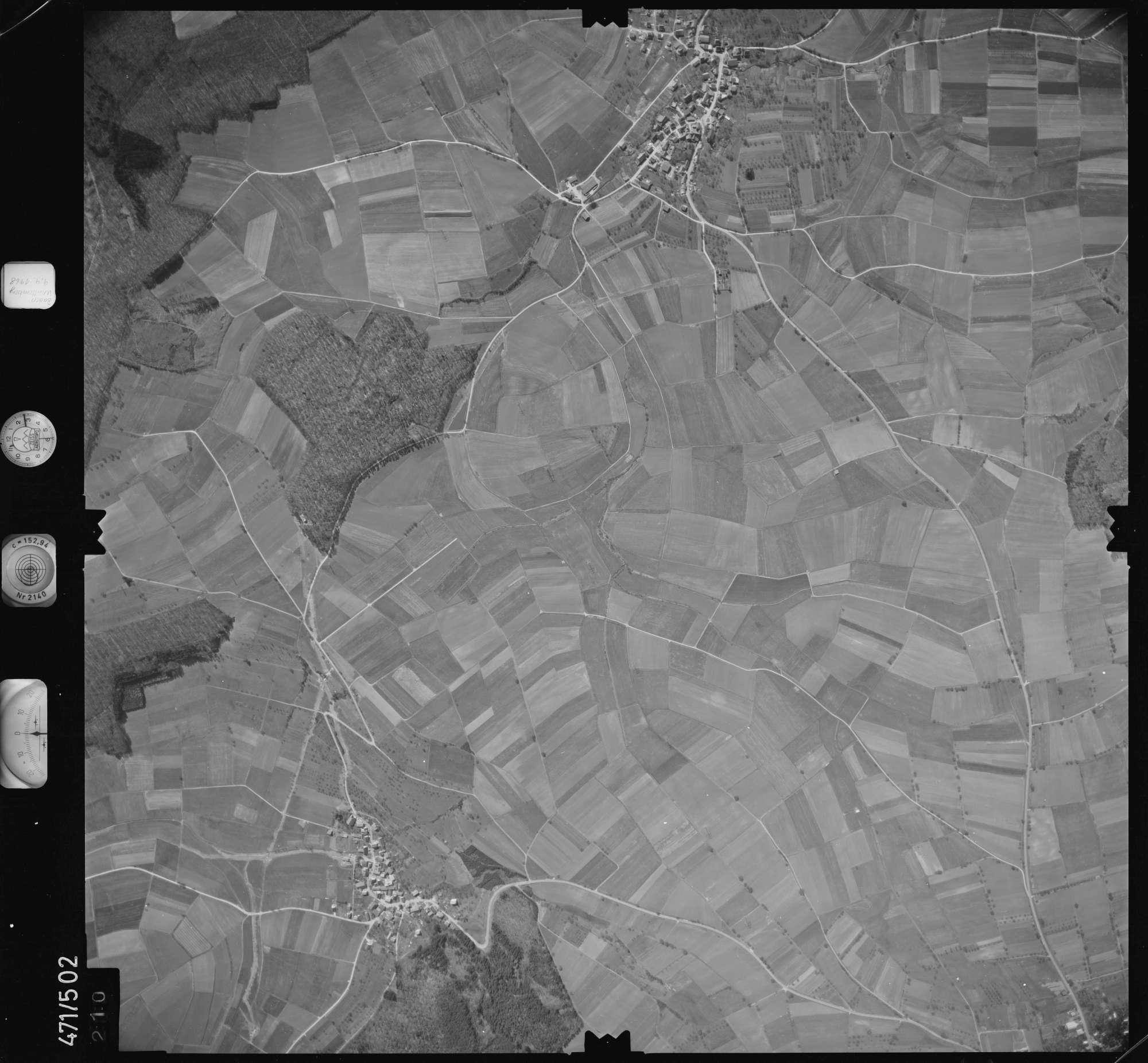 Luftbild: Film 100 Bildnr. 210, Bild 1