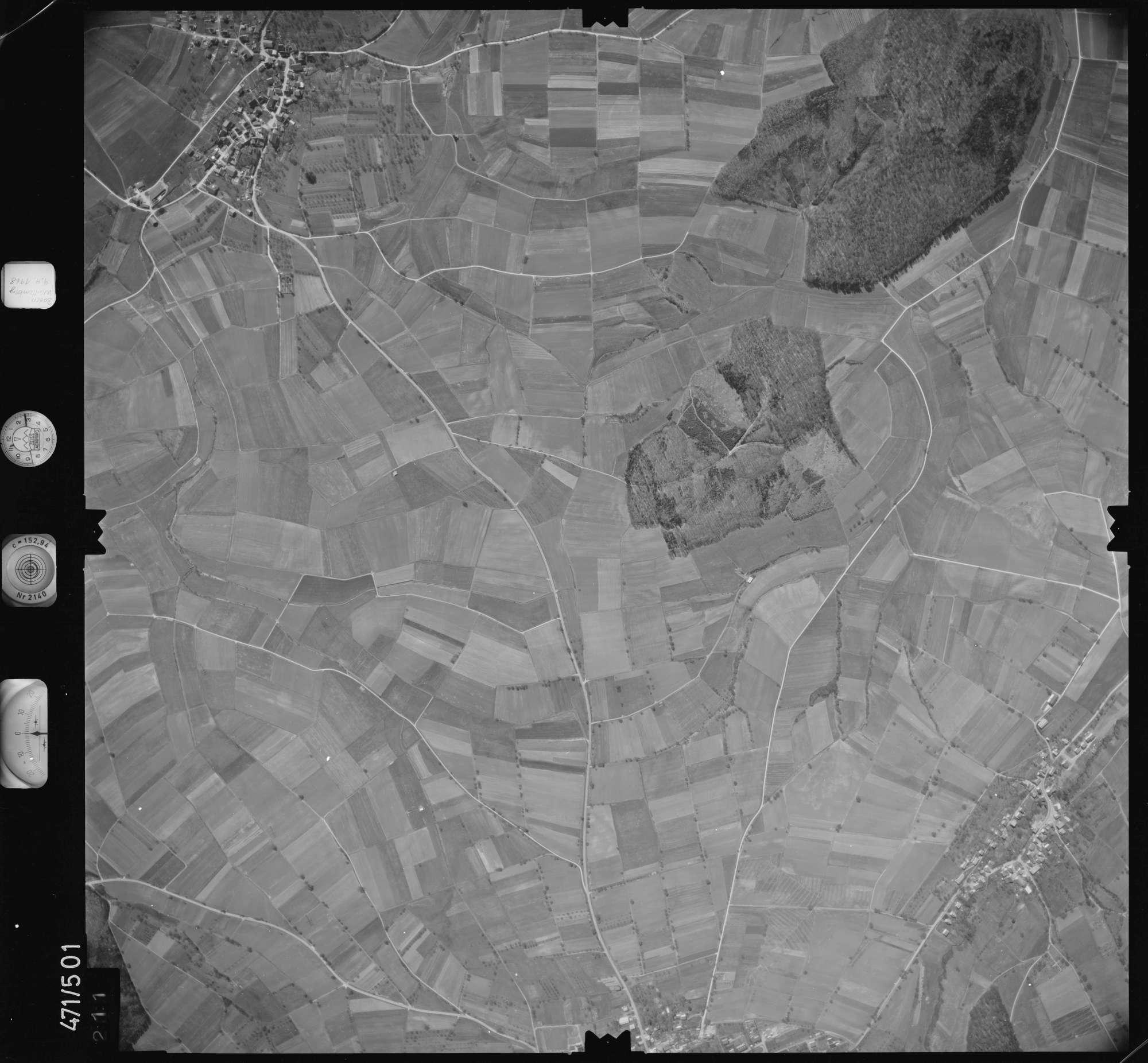 Luftbild: Film 100 Bildnr. 211, Bild 1