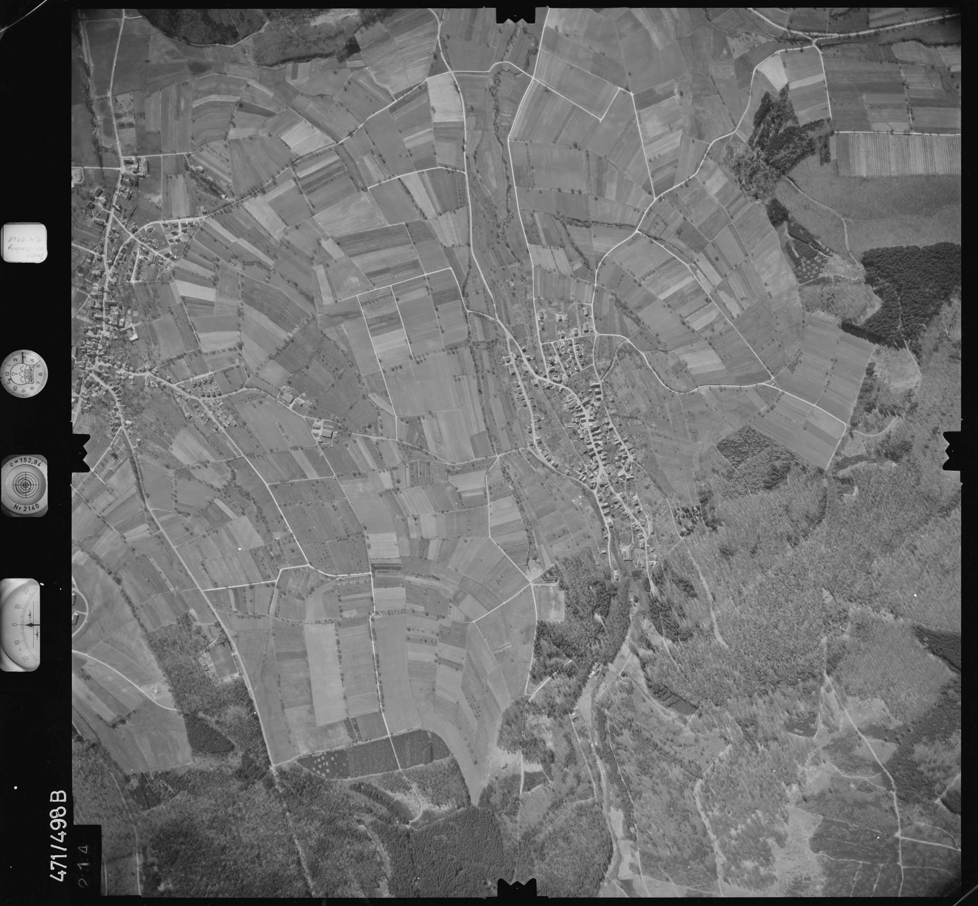 Luftbild: Film 100 Bildnr. 214, Bild 1