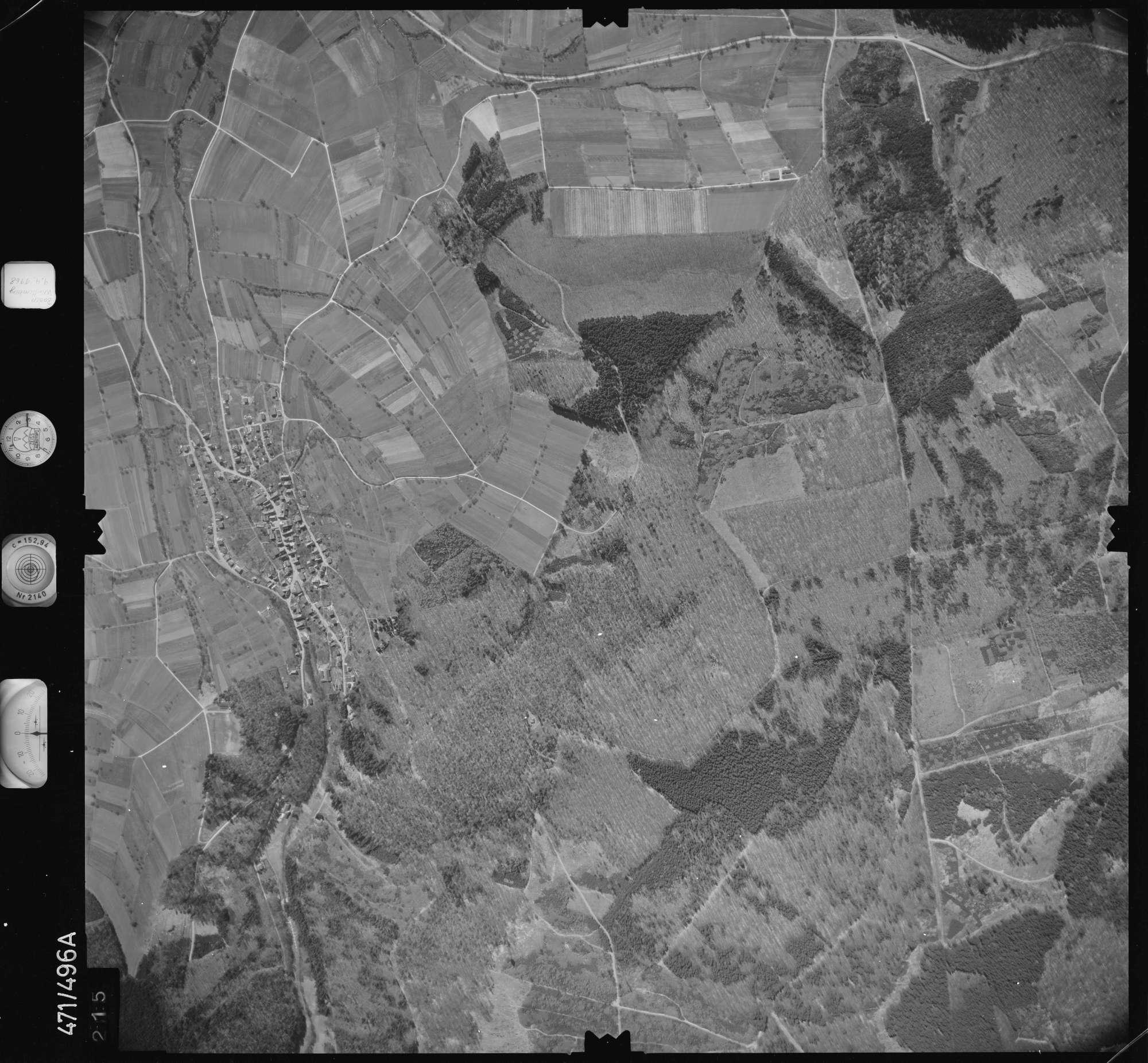 Luftbild: Film 100 Bildnr. 215, Bild 1
