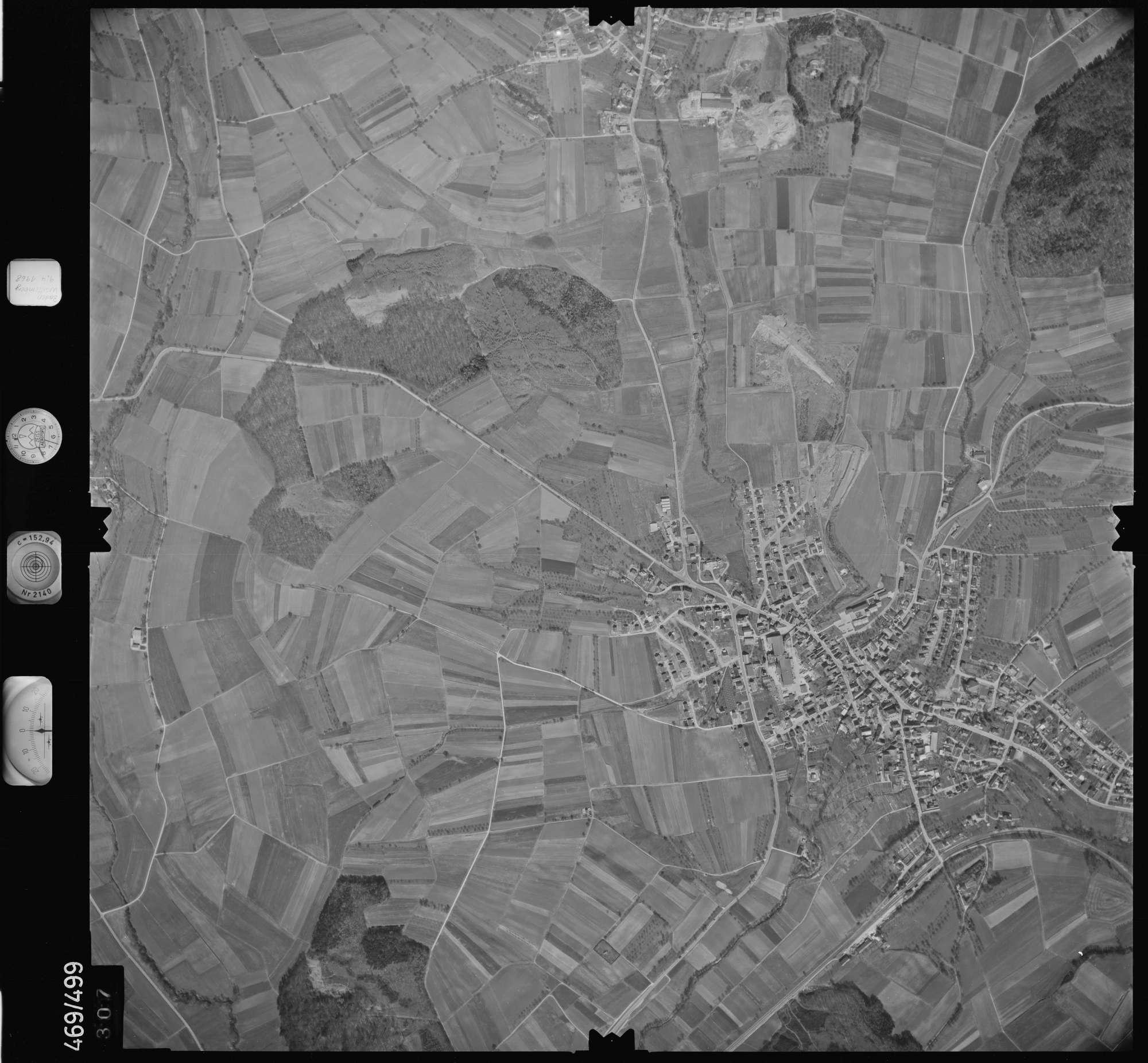 Luftbild: Film 101 Bildnr. 307, Bild 1