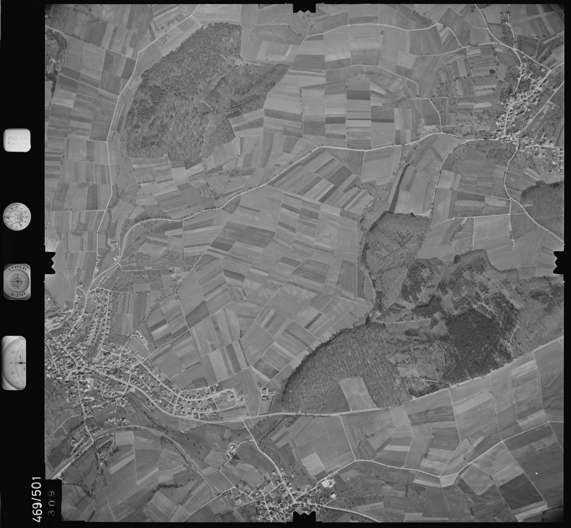Luftbild: Film 101 Bildnr. 309, Bild 1