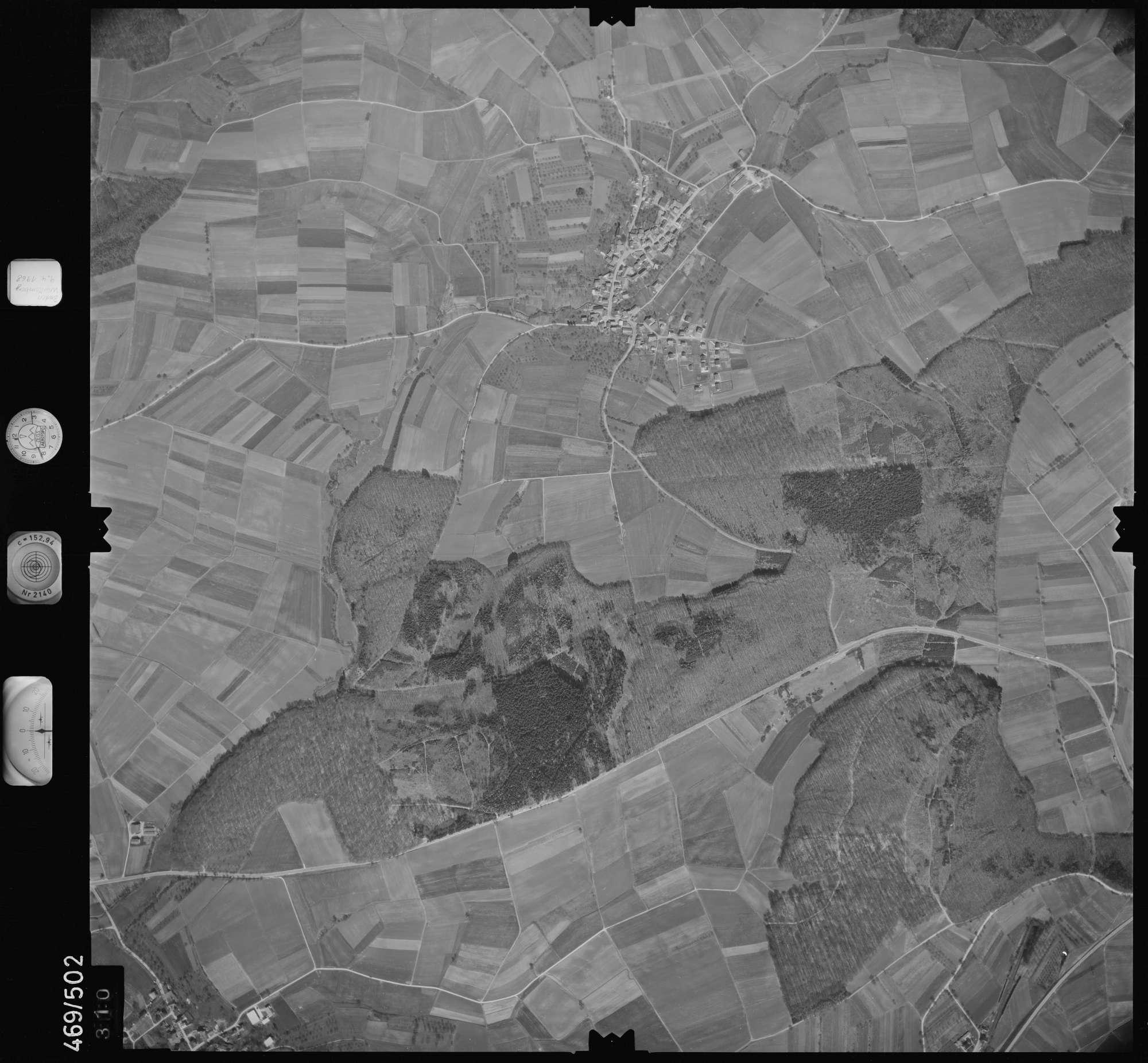 Luftbild: Film 101 Bildnr. 310, Bild 1