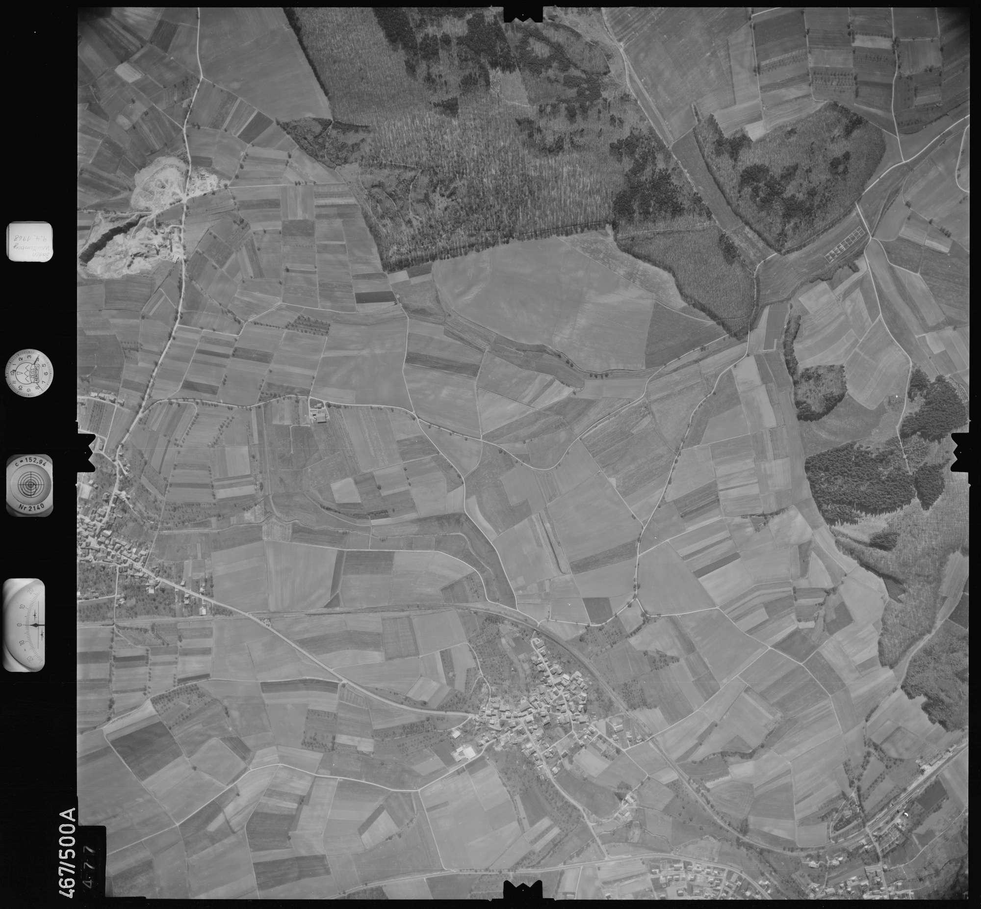 Luftbild: Film 101 Bildnr. 477, Bild 1