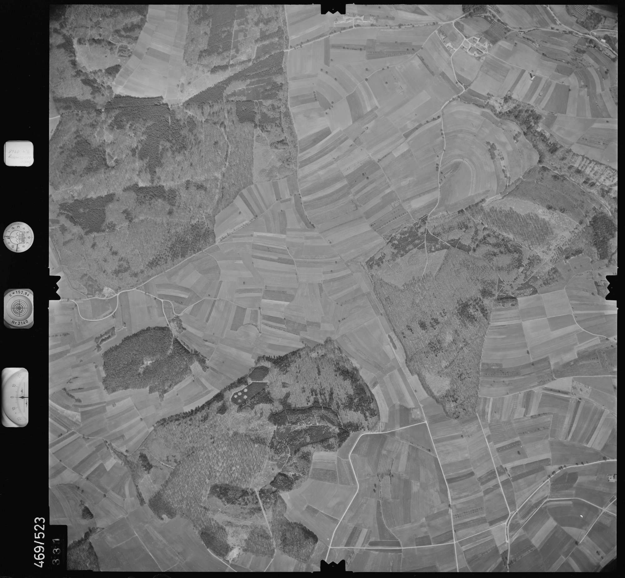Luftbild: Film 101 Bildnr. 331, Bild 1