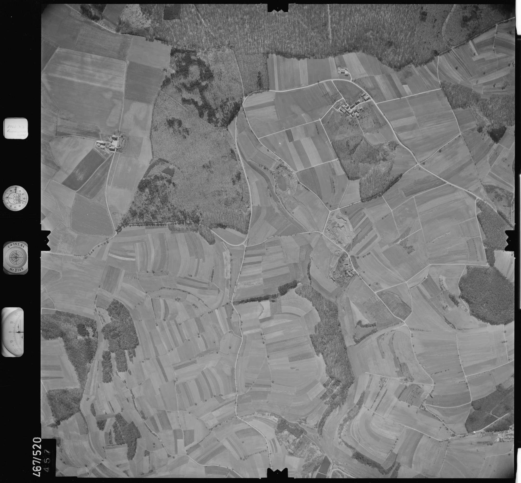 Luftbild: Film 101 Bildnr. 457, Bild 1