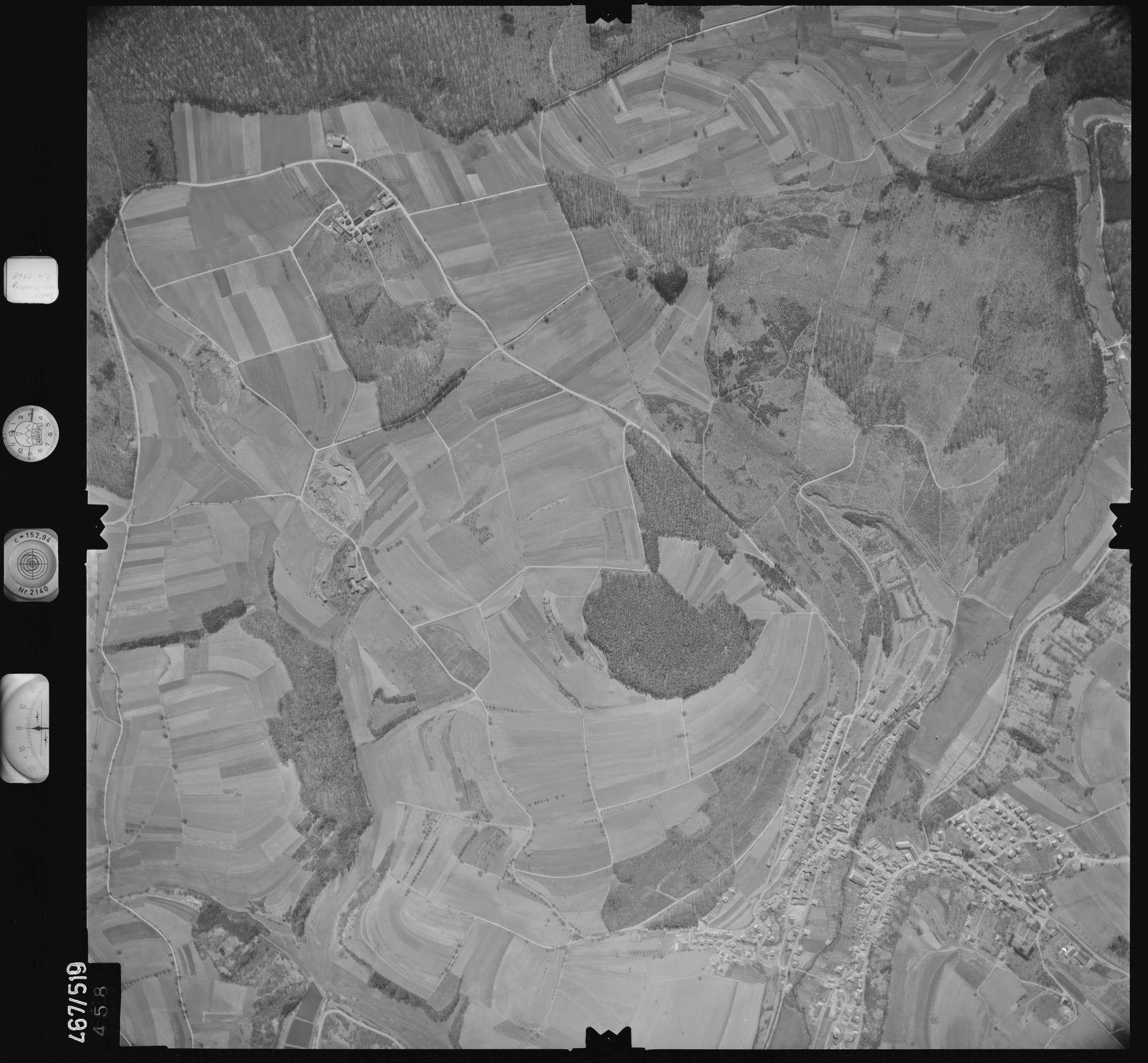 Luftbild: Film 101 Bildnr. 458, Bild 1
