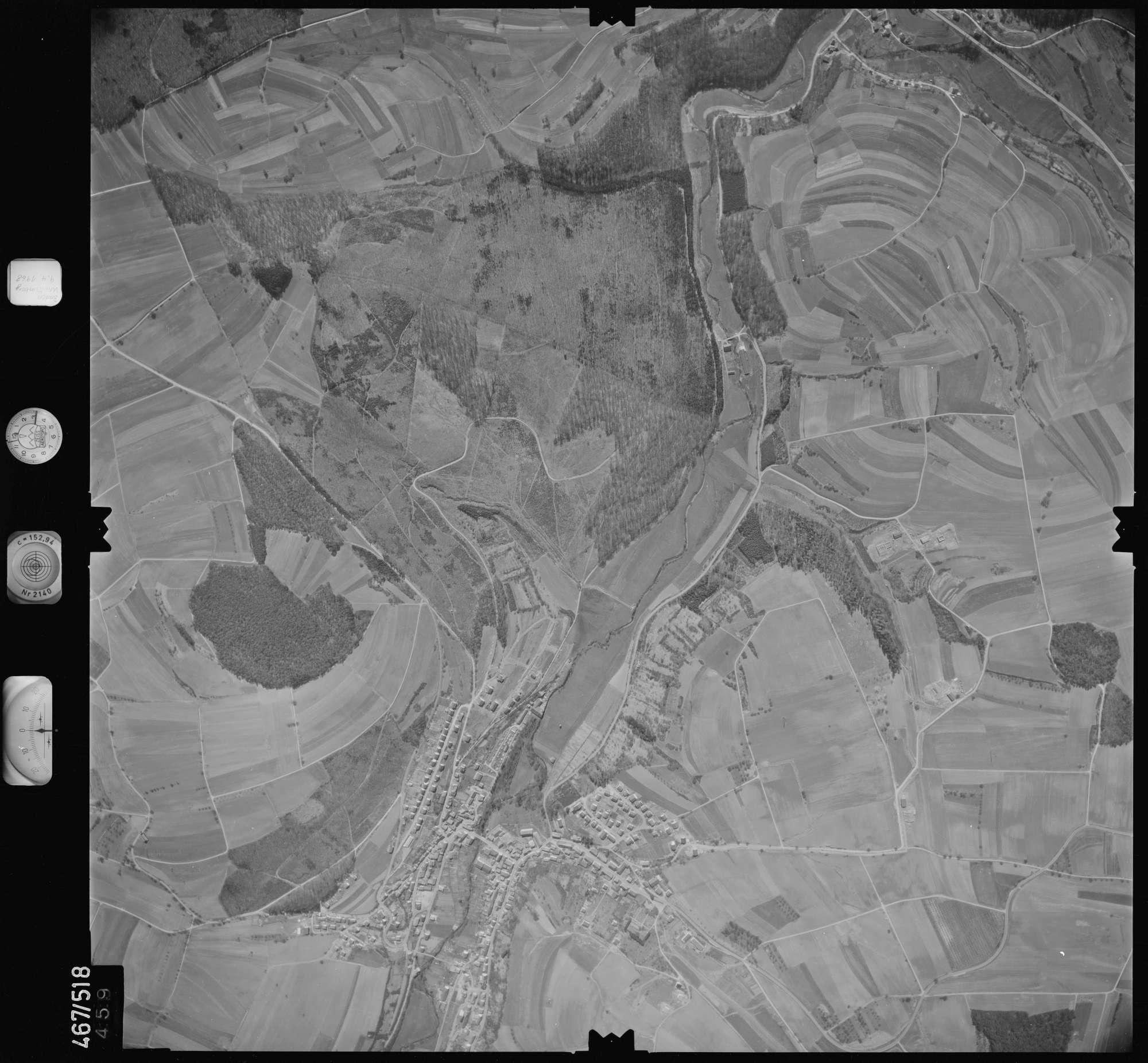 Luftbild: Film 101 Bildnr. 459, Bild 1