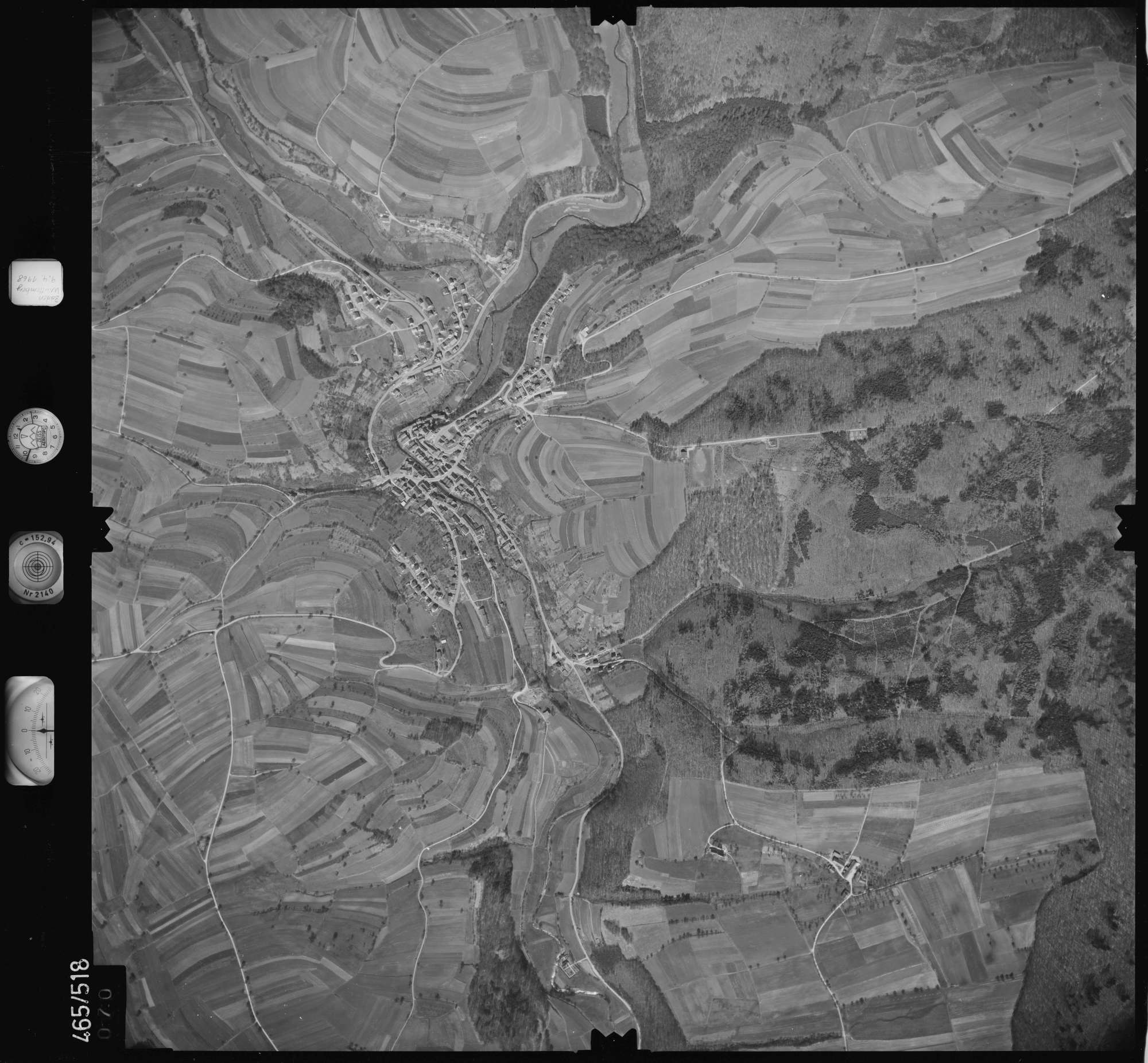 Luftbild: Film 102 Bildnr. 70, Bild 1