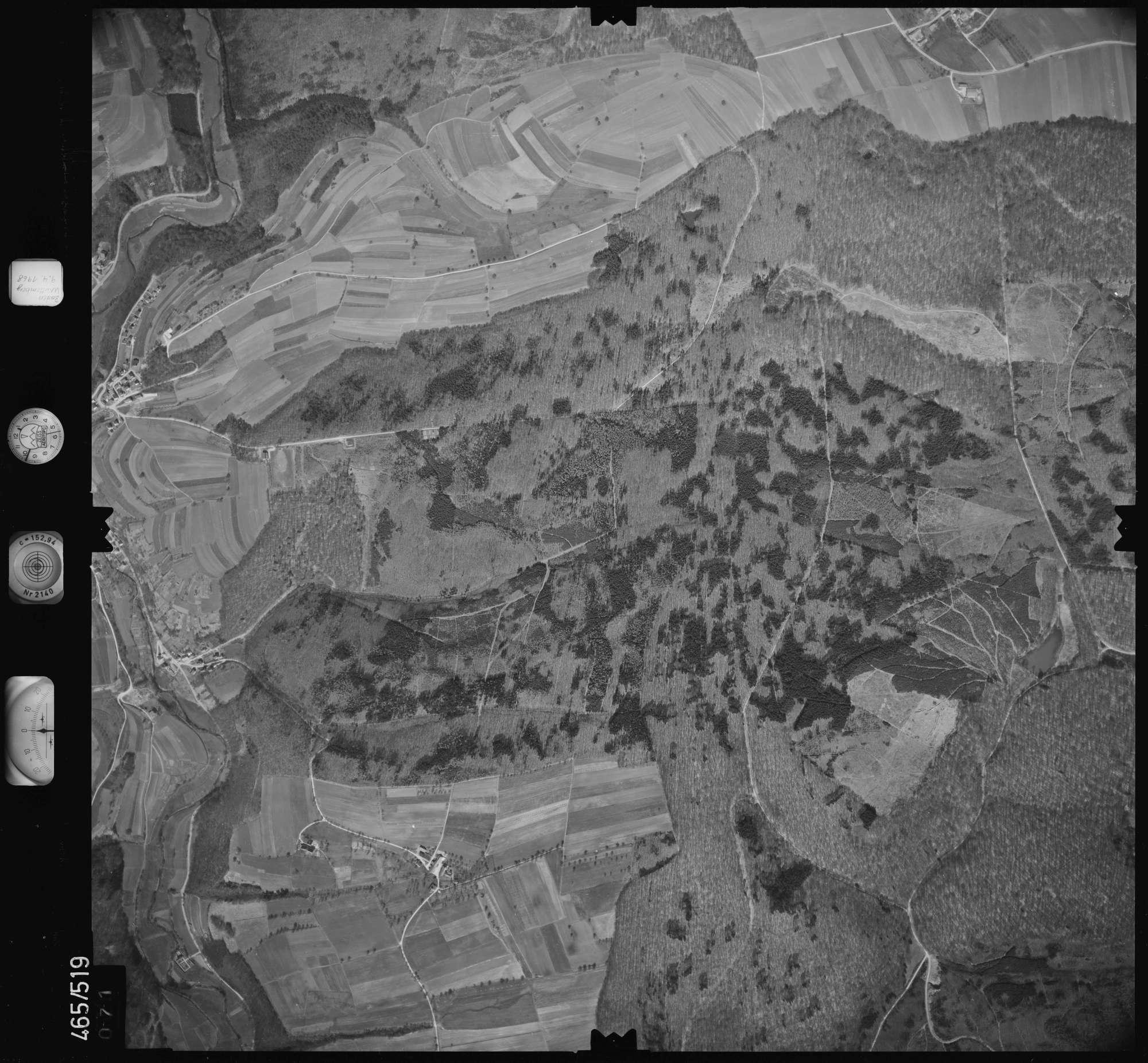 Luftbild: Film 102 Bildnr. 71, Bild 1