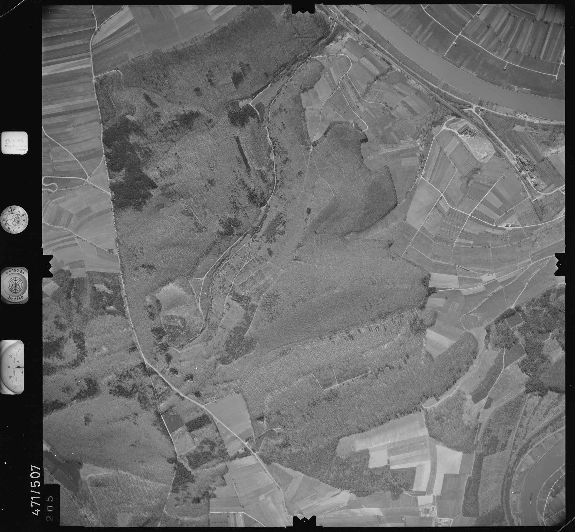 Luftbild: Film 100 Bildnr. 205, Bild 1
