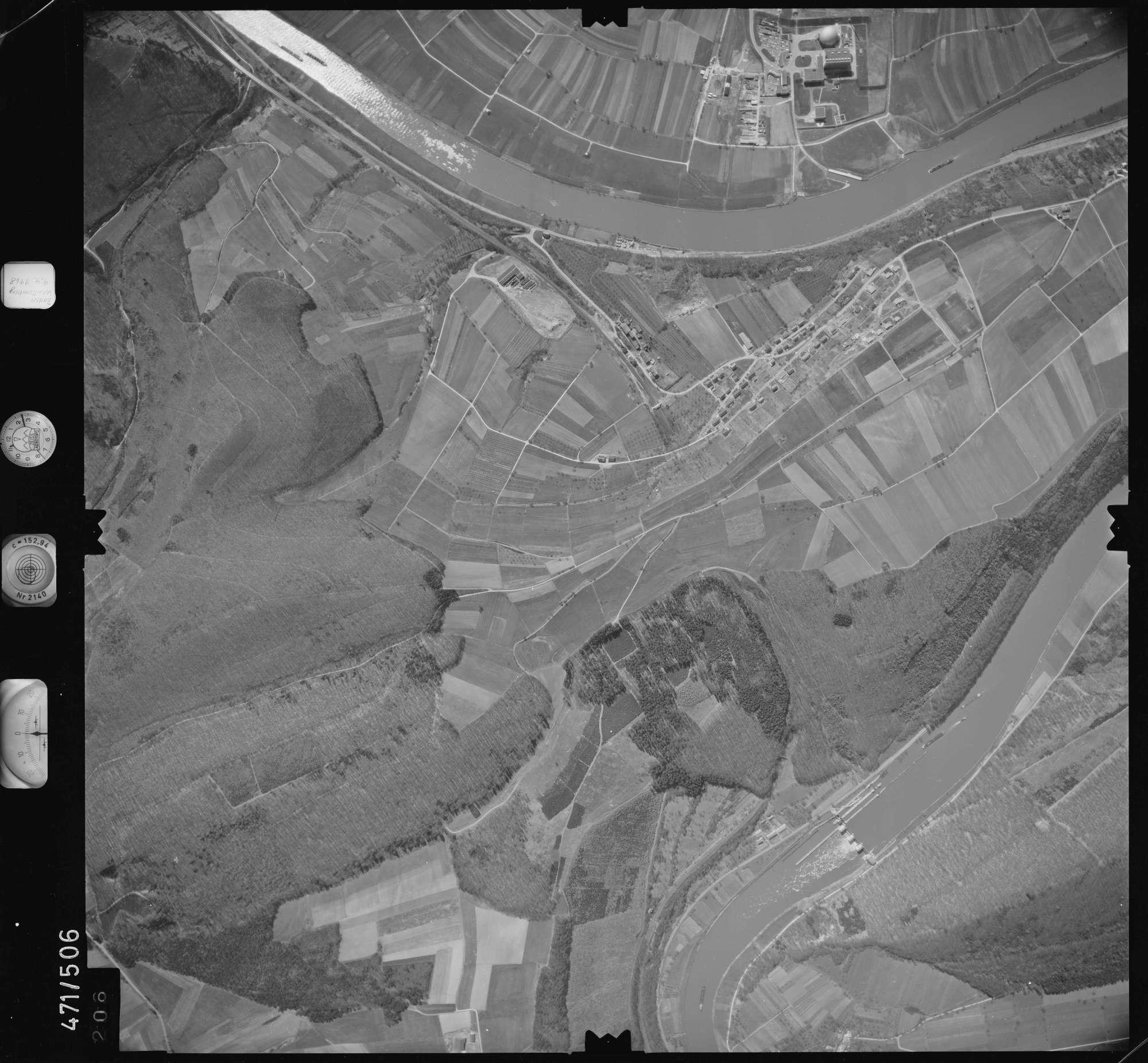 Luftbild: Film 100 Bildnr. 206, Bild 1