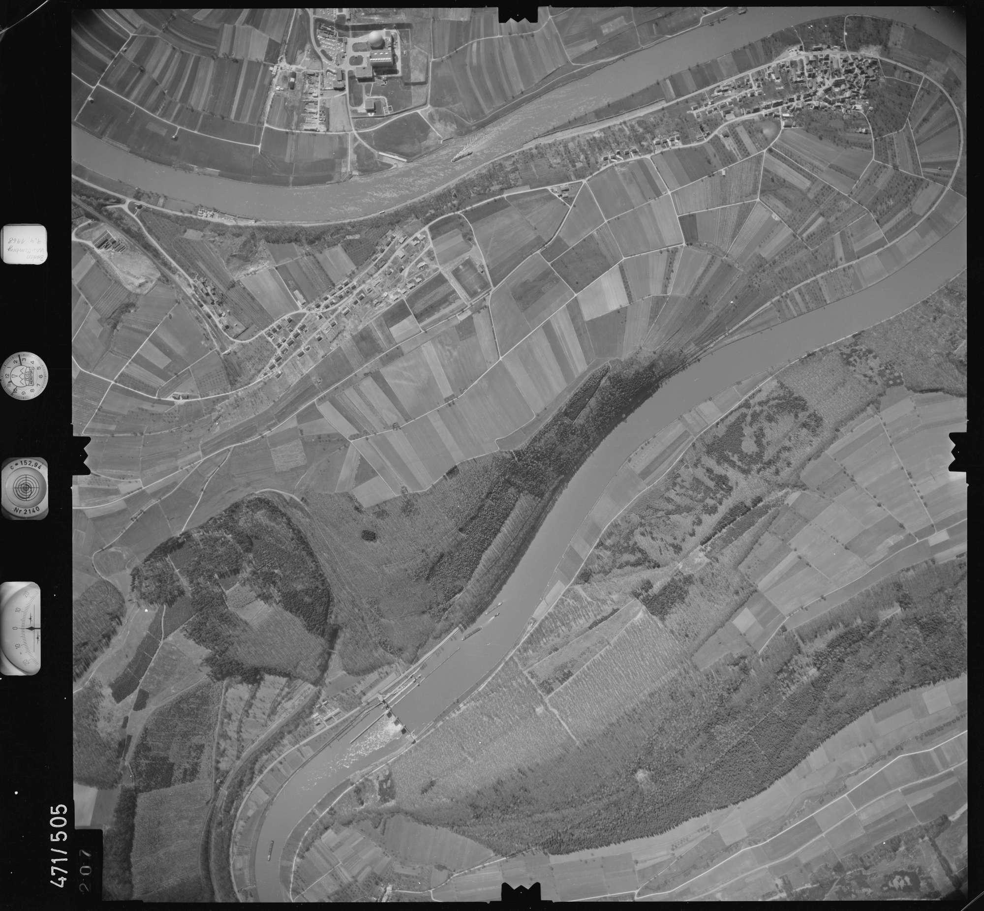 Luftbild: Film 100 Bildnr. 207, Bild 1
