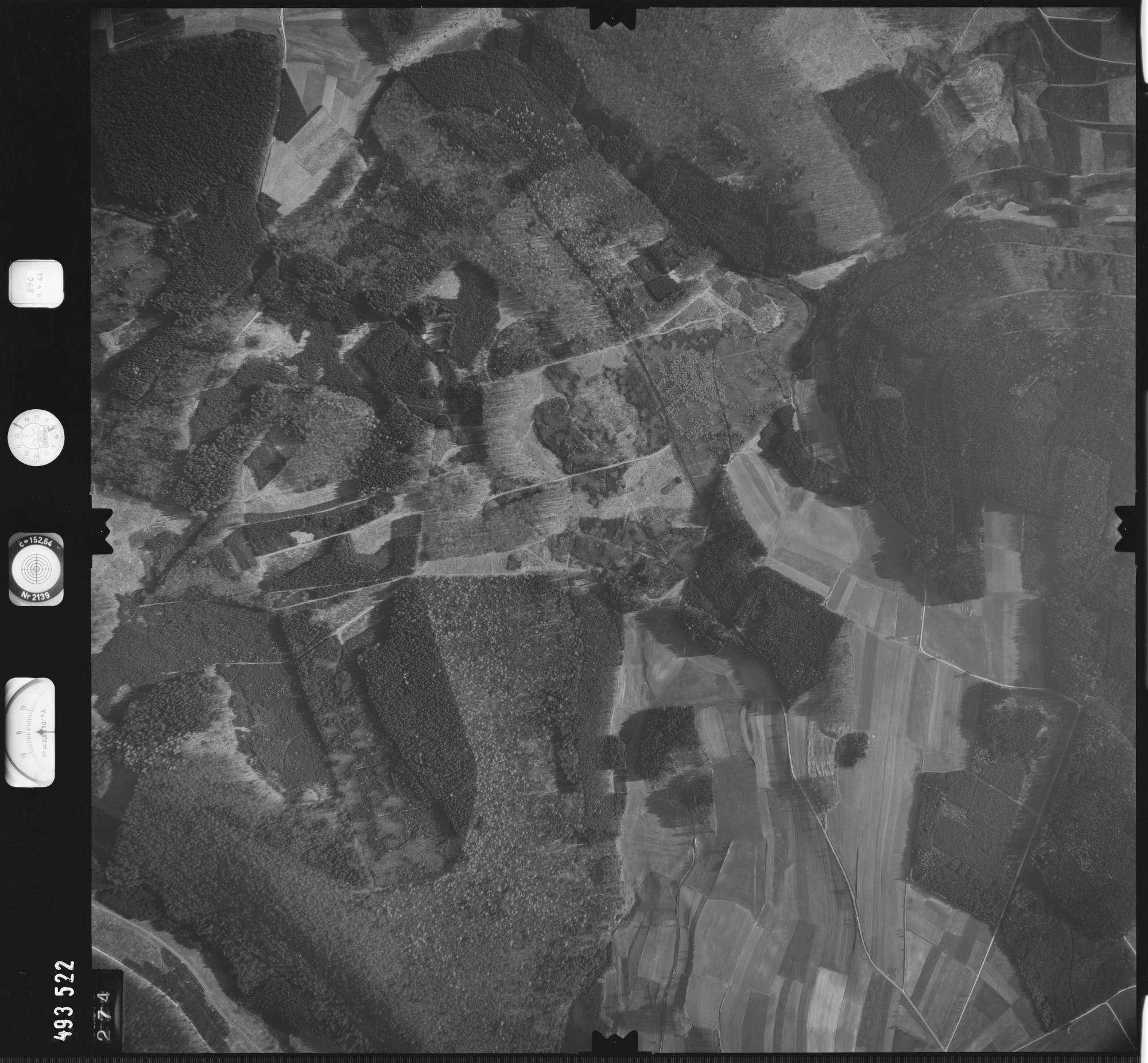 Luftbild: Film 889 Bildnr. 274, Bild 1