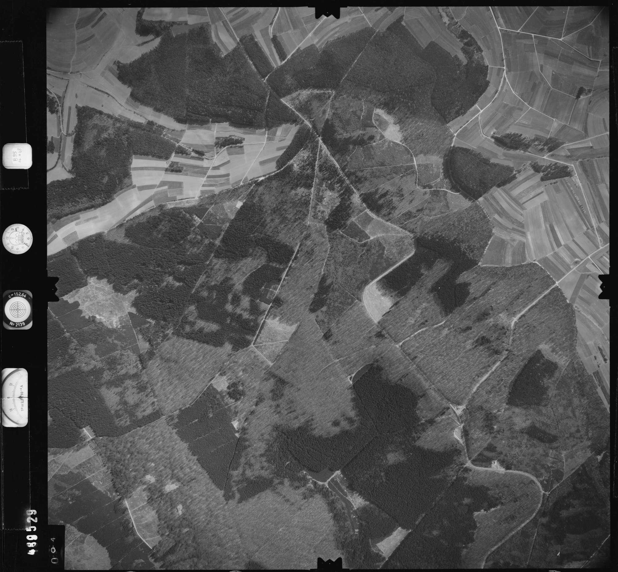 Luftbild: Film 895 Bildnr. 94, Bild 1