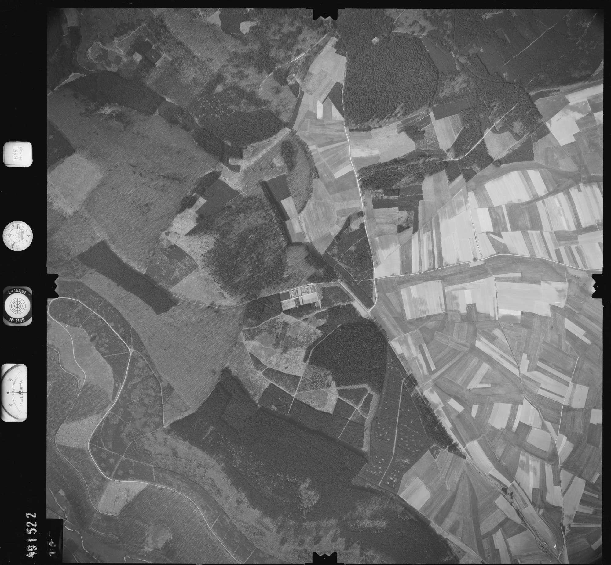 Luftbild: Film 895 Bildnr. 135, Bild 1