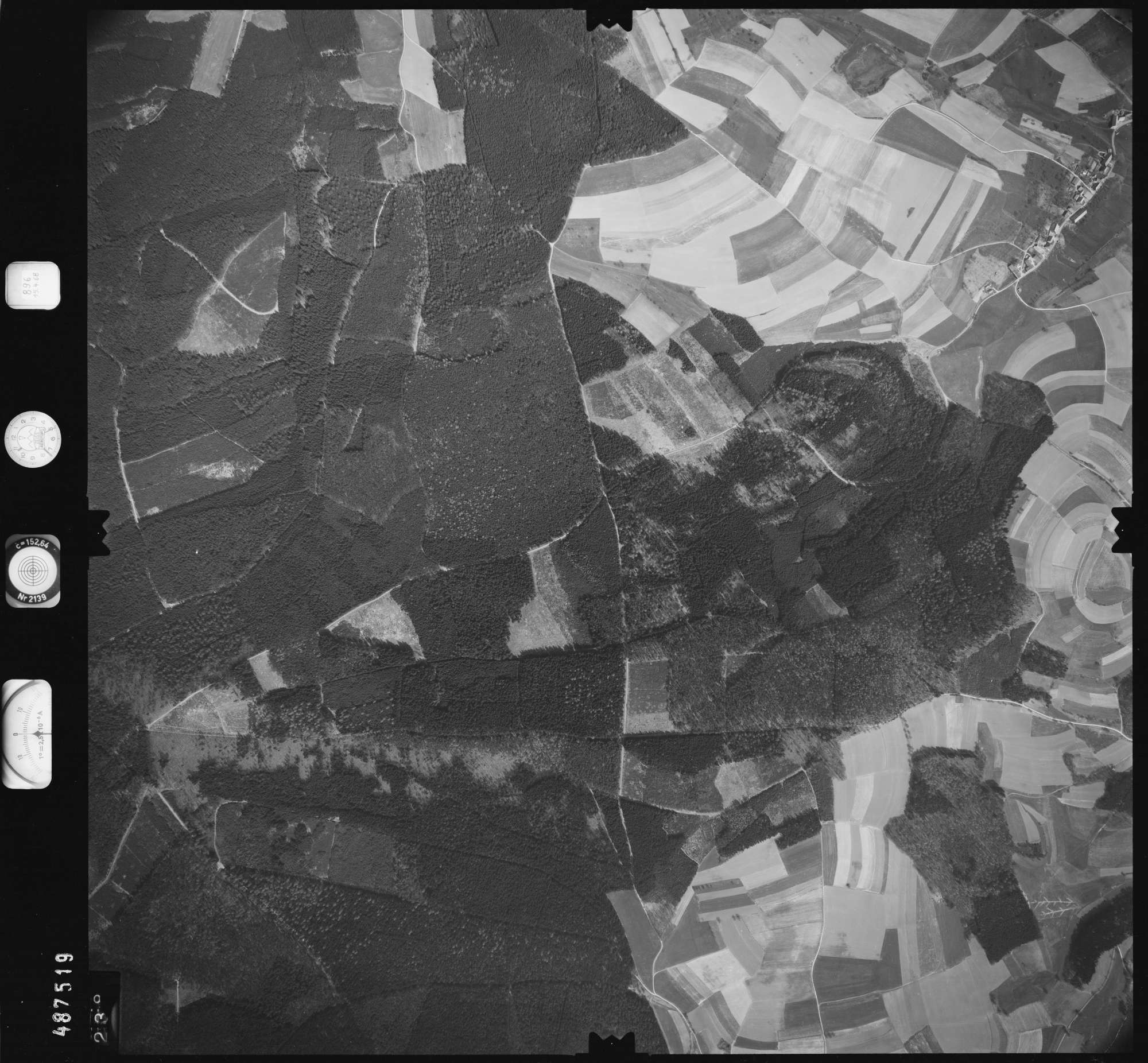 Luftbild: Film 896 Bildnr. 238, Bild 1