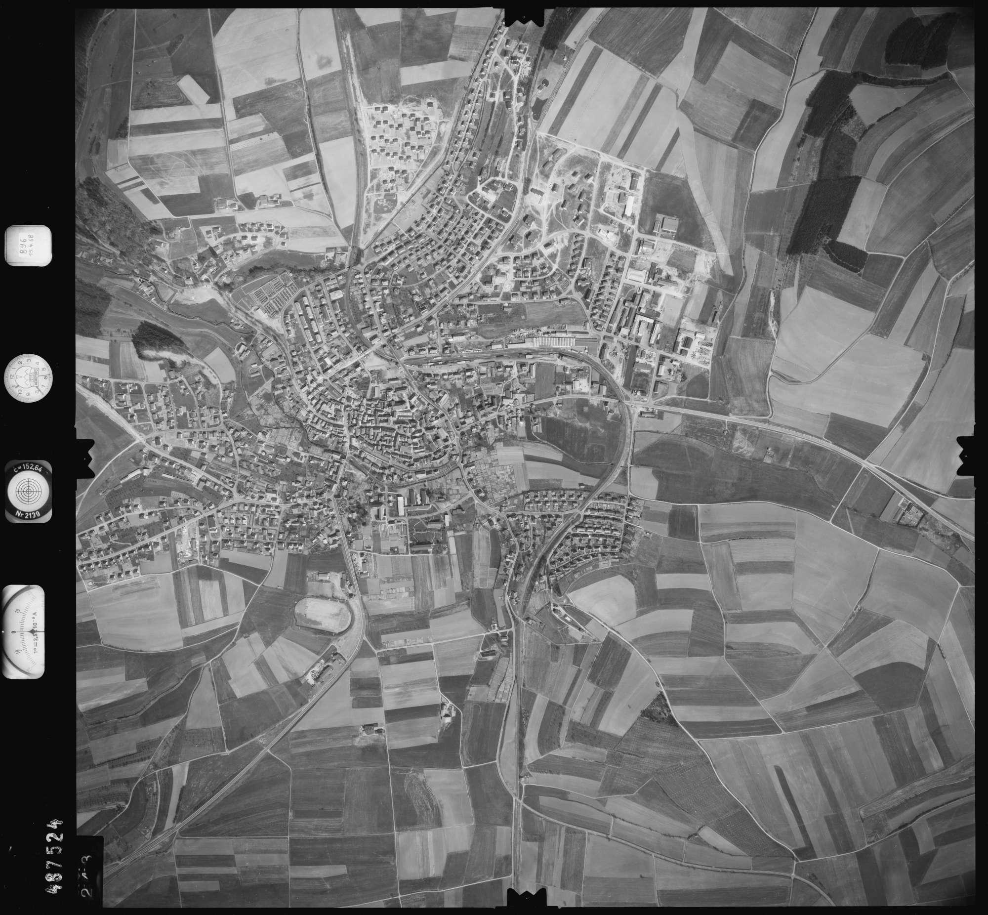Luftbild: Film 896 Bildnr. 243, Bild 1