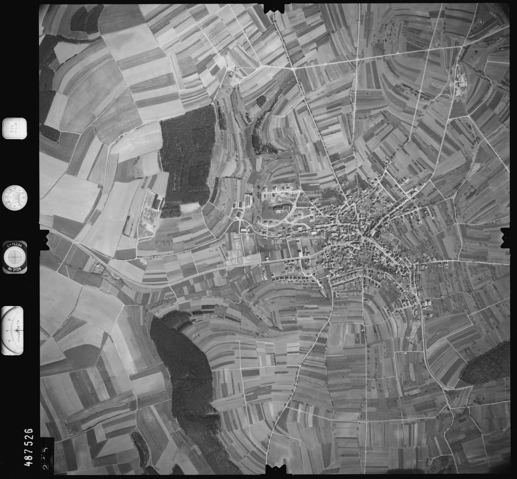Luftbild: Film 896 Bildnr. 245, Bild 1
