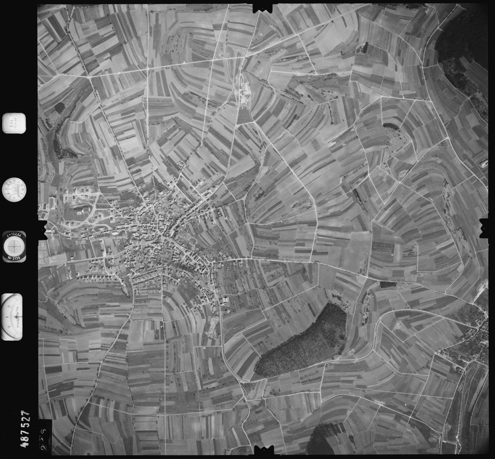 Luftbild: Film 896 Bildnr. 246, Bild 1